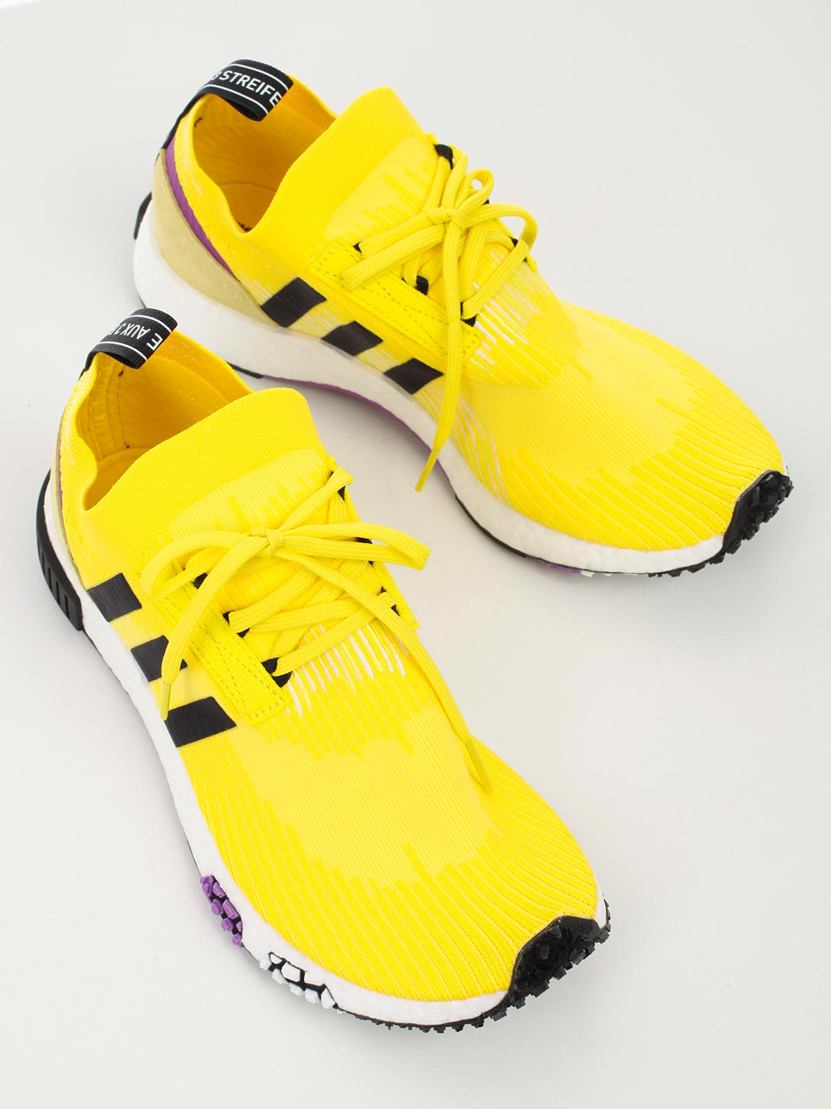 new product e8898 d596c ... Adidas Originals Nmd Racer Pk Sneakers - Yellow Black Shopur