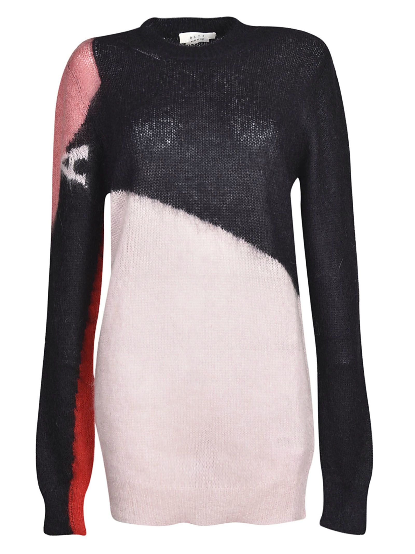 4f40dadeafe4a Alyx Alyx Color-block Sweater - Pink - 10701121