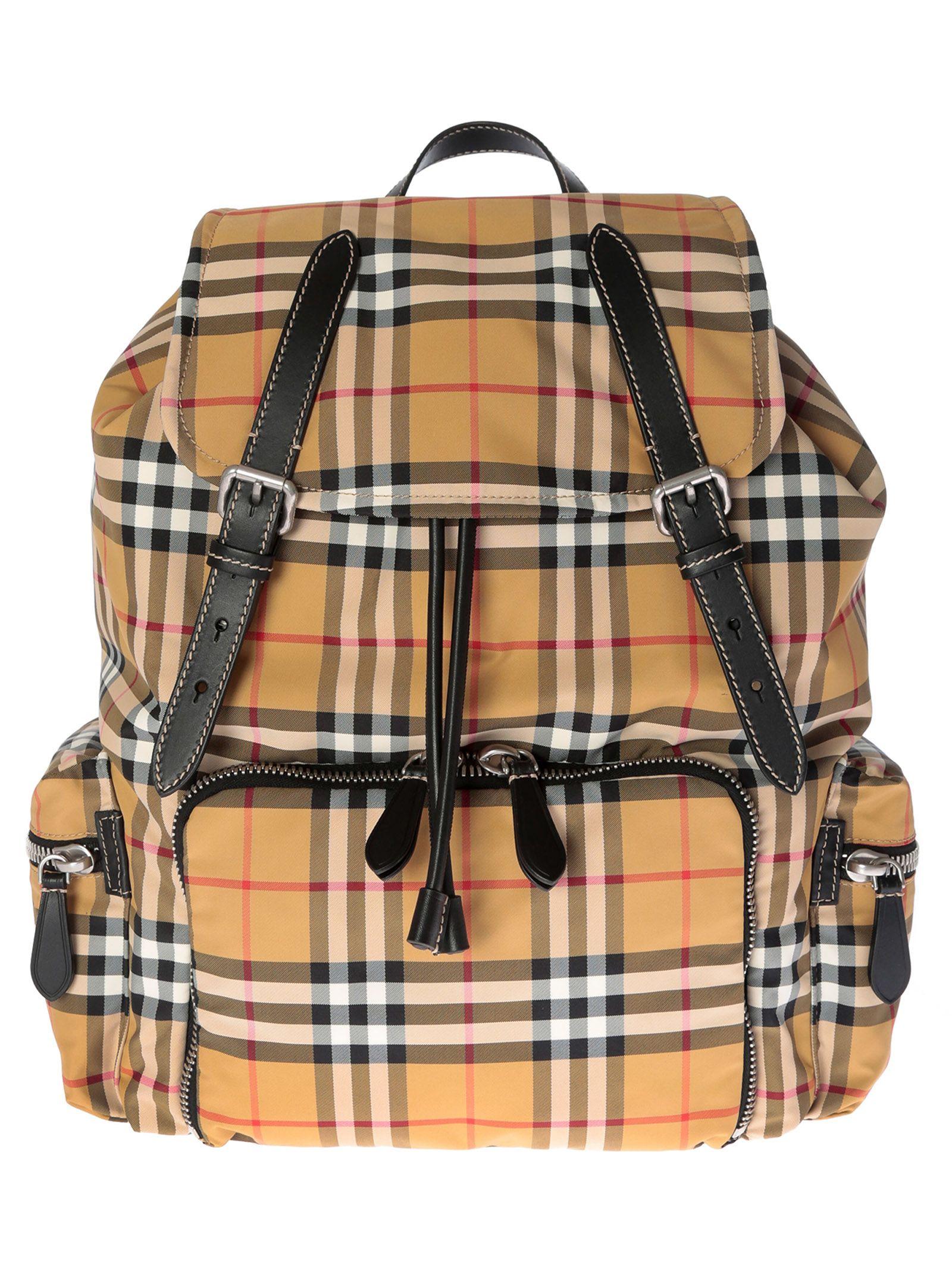 12da212be58e Burberry Burberry Vintage Check Backpack - 10836597
