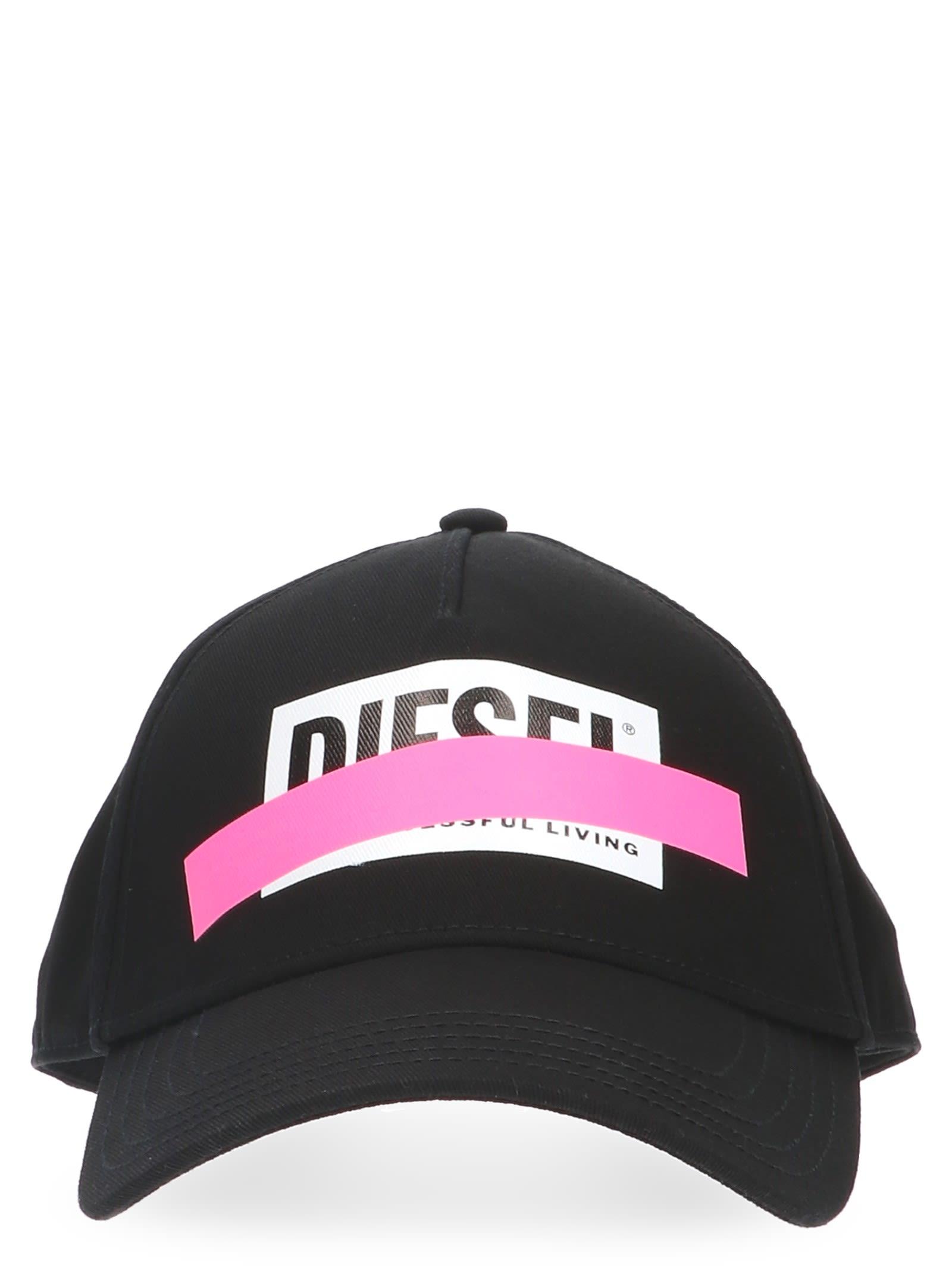 Diesel Diesel  ciride  Cap - Black - 10804664  368b2ed95b2f