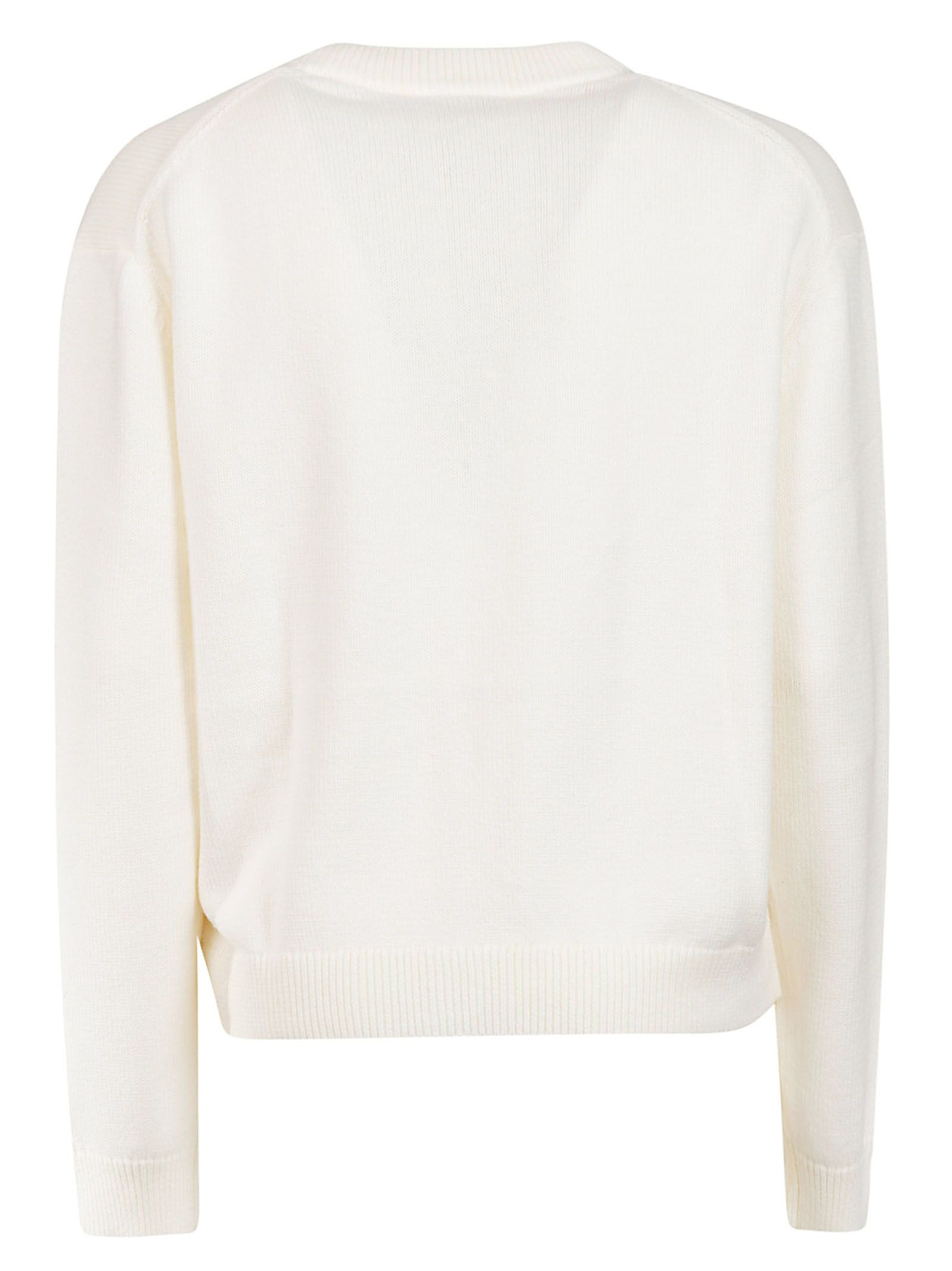f94d38f6 Kenzo Embroidered Tiger Sweatshirt - Blanc Kenzo Embroidered Tiger  Sweatshirt - Blanc