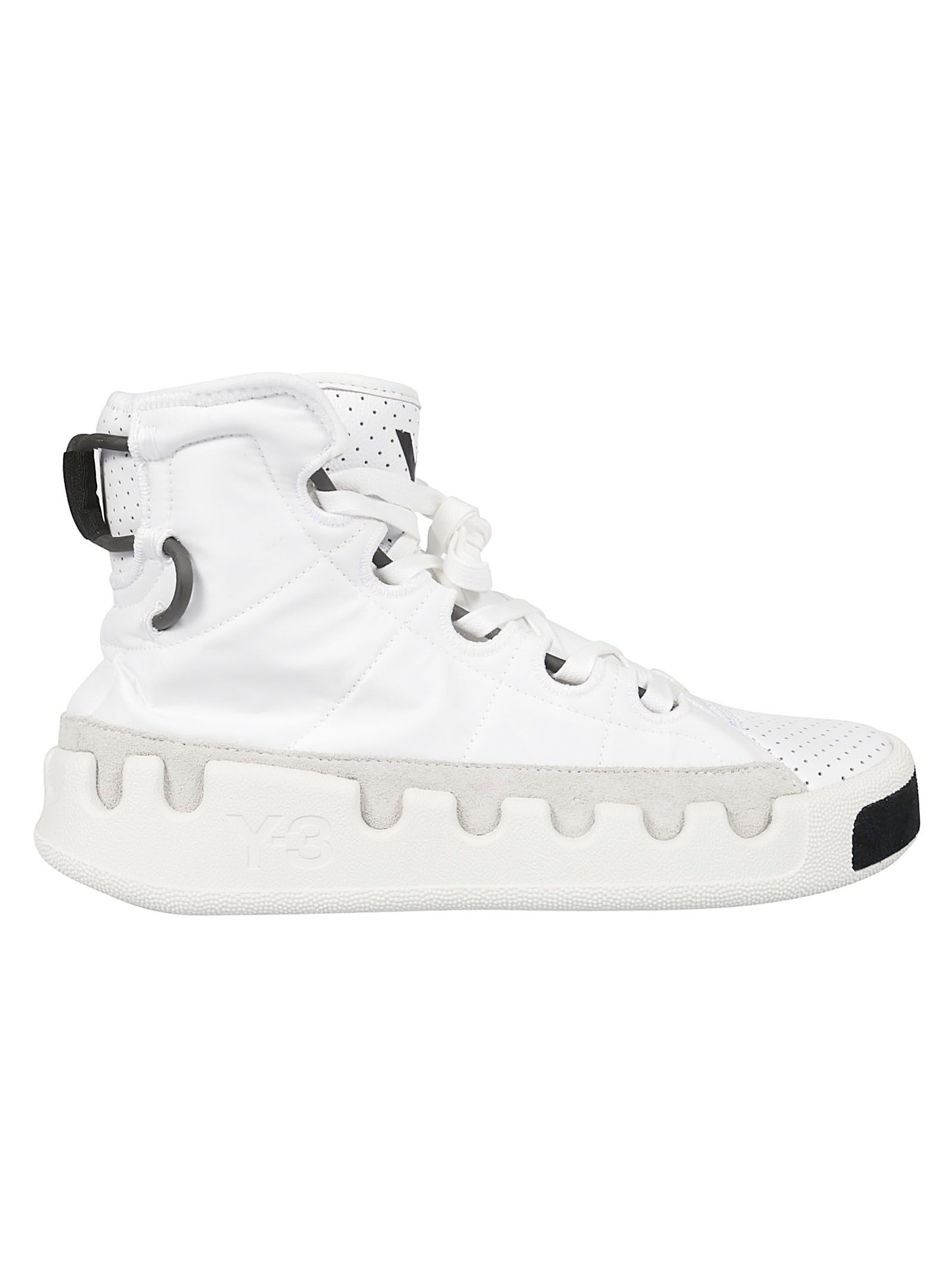 b9d29c3cfbe5f Y-3 Kasabaru Hi-top Sneakers - Ftwr White Ftwr White .