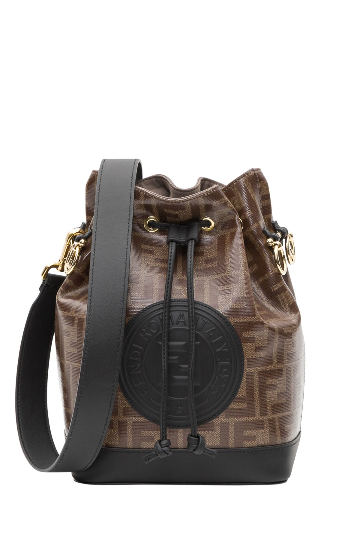 05a3acd33bcc Fendi Fendi Mon Tresor Bucket Bag - Marrone - 10804291