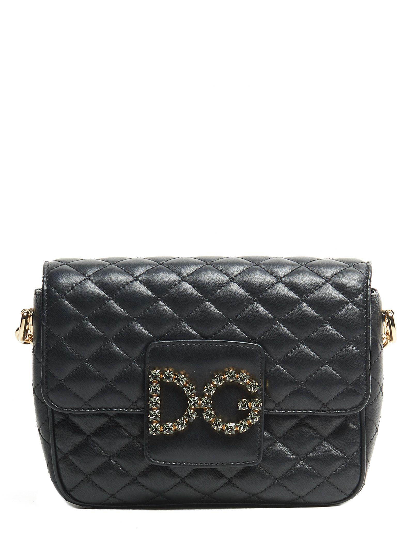 0143769697 Dolce   Gabbana Dolce   Gabbana  dg Millennials  Bag - Black ...