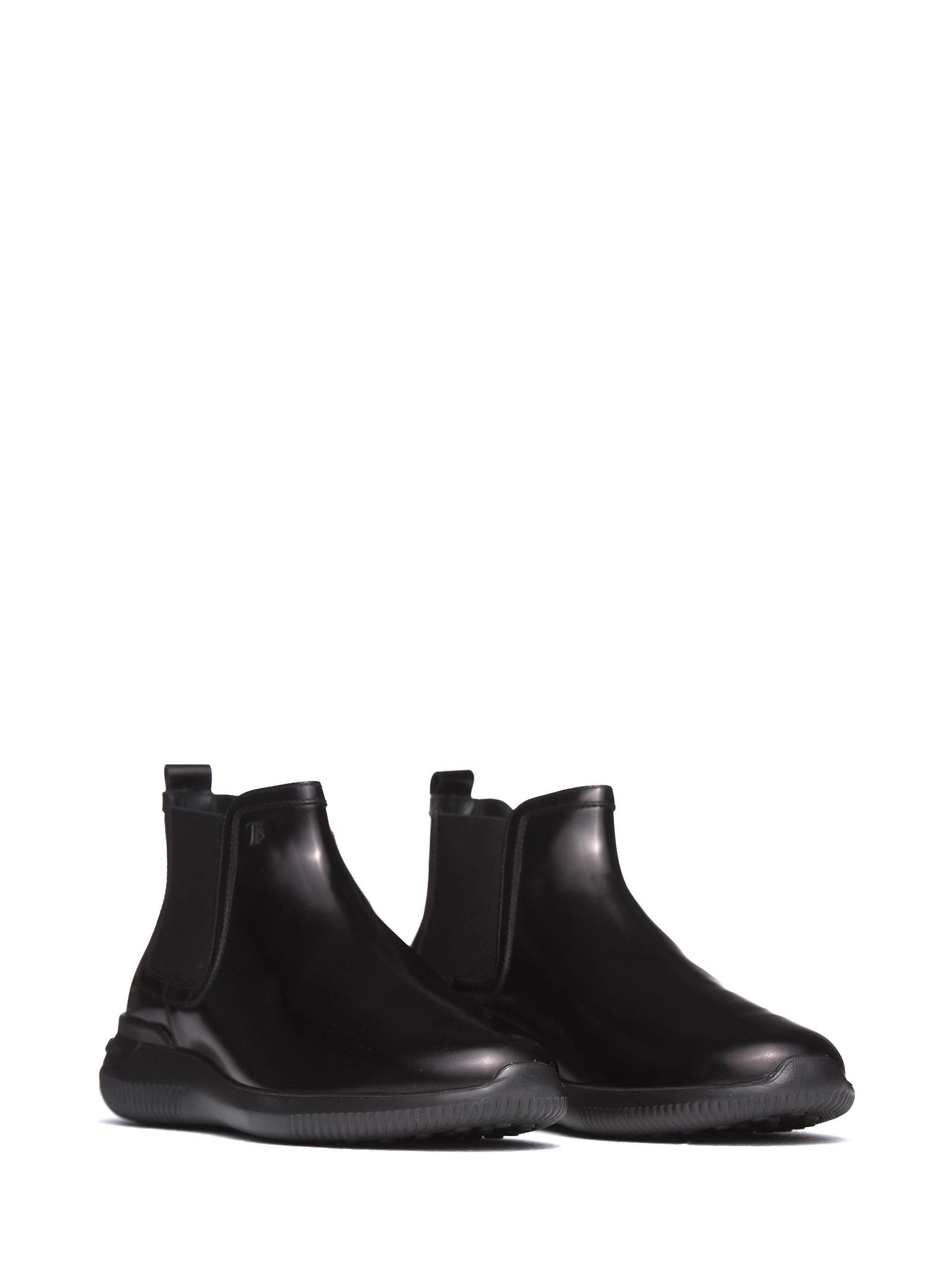 cec1beb603 Tod's Tod's Ankle Boots In Black Smooth Leather B - NERO - 10713953 ...