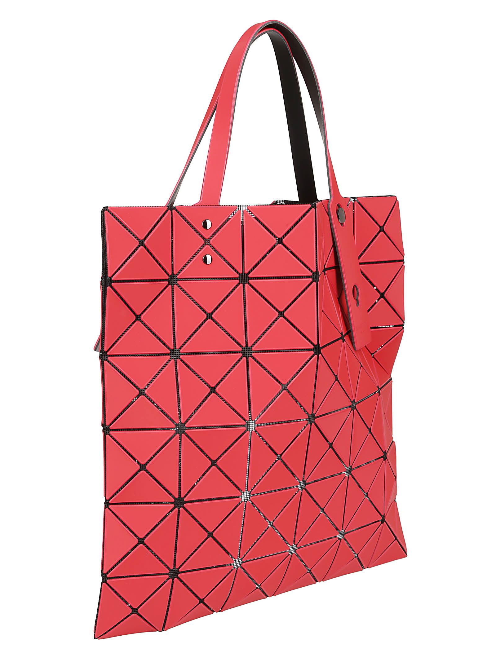46539b18f4 Bao Bao Issey Miyake Bao Bao Issey Miyake Geometric Tote - Red ...