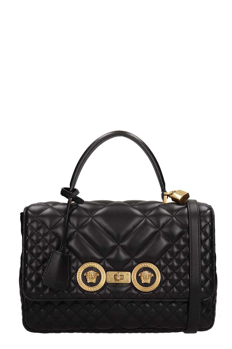 1c5f8da3bd Versace Versace Black Leather Tote Bag - black - 10934900 | italist
