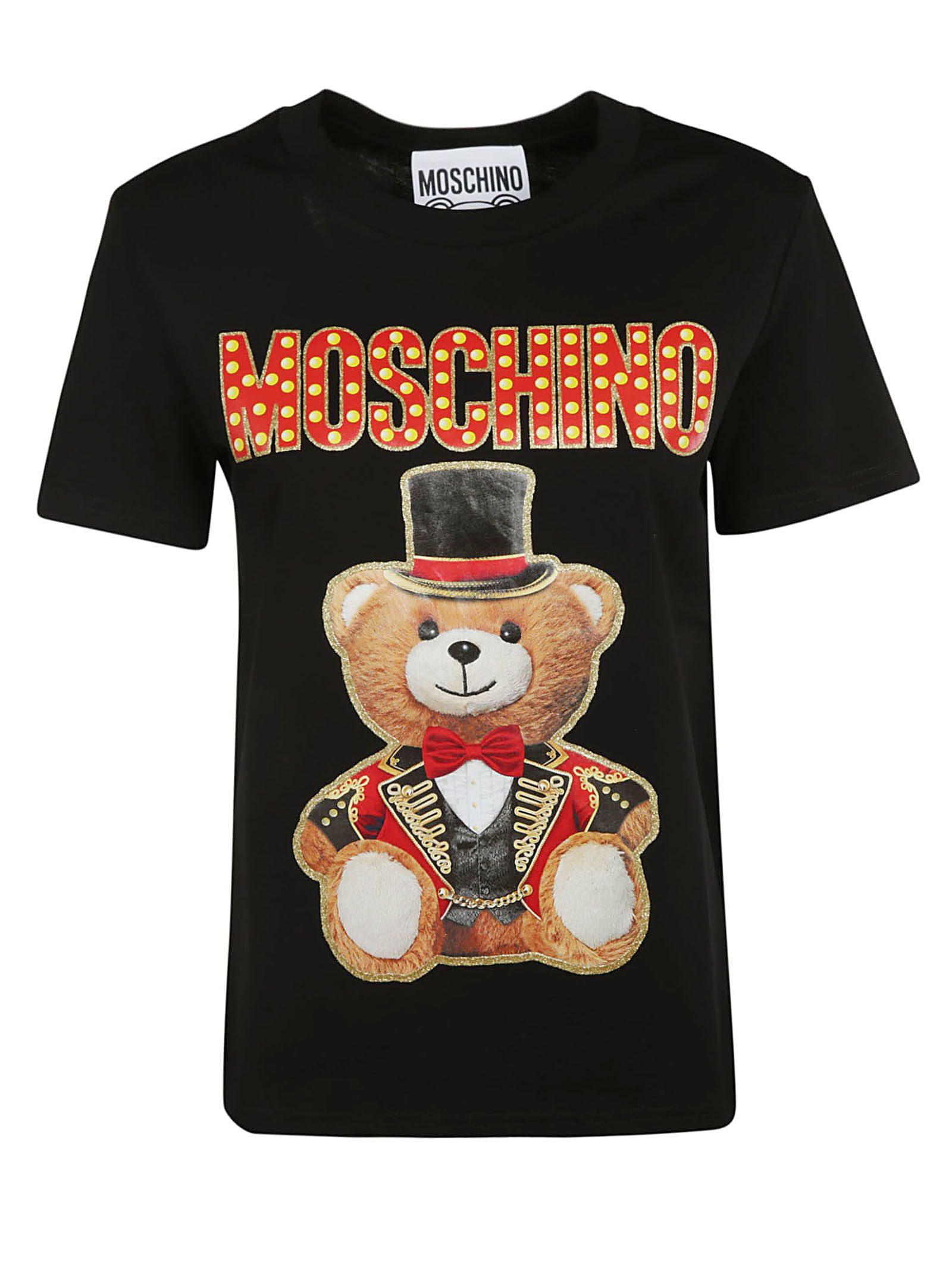 37408c093d21 Moschino Moschino Logo Teddy Bear T-shirt - Black - 10818441