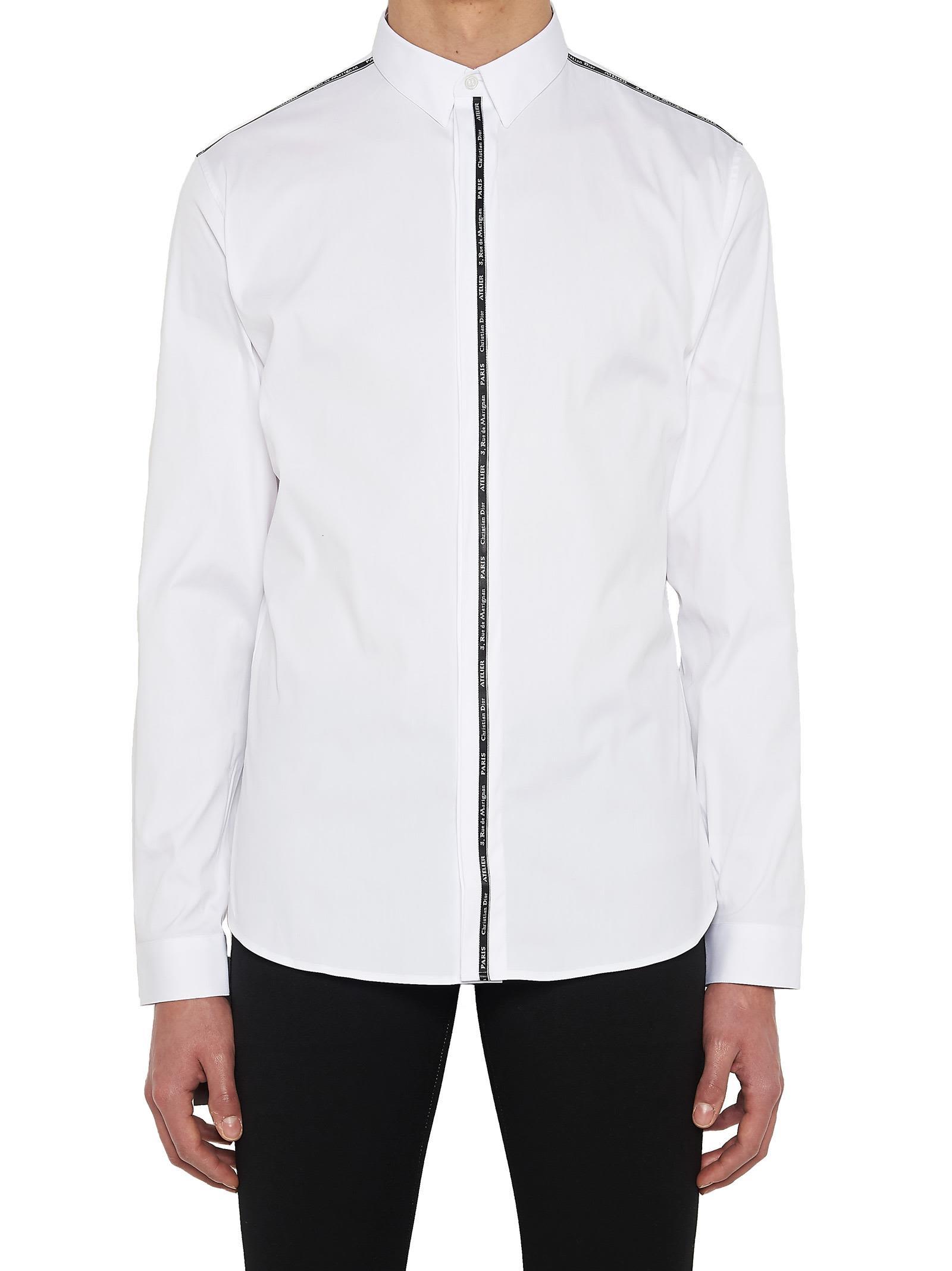 f33eb5252 Dior Homme Dior Homme 'christian Dior Atelier' Shirt - White - 10622531 |  italist