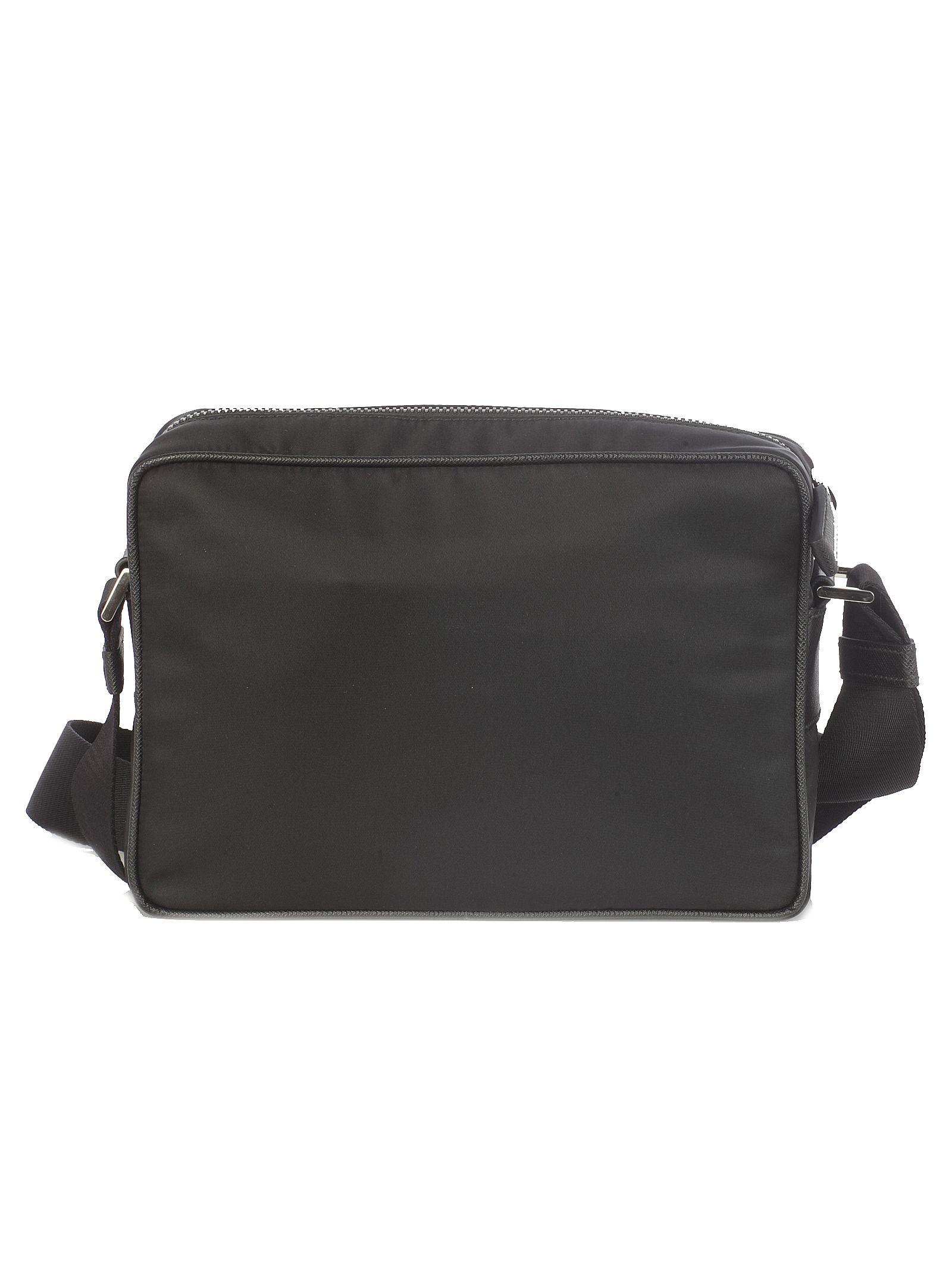 47230b95dd Prada Prada Logo Shoulder Bag - Black - 10784140