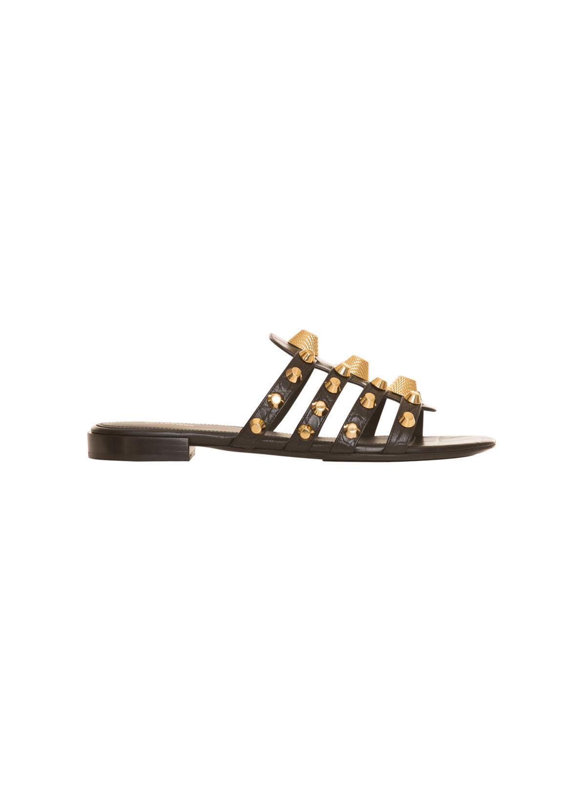 Balenciaga Shoes Balenciaga Sandals With Studs In Black