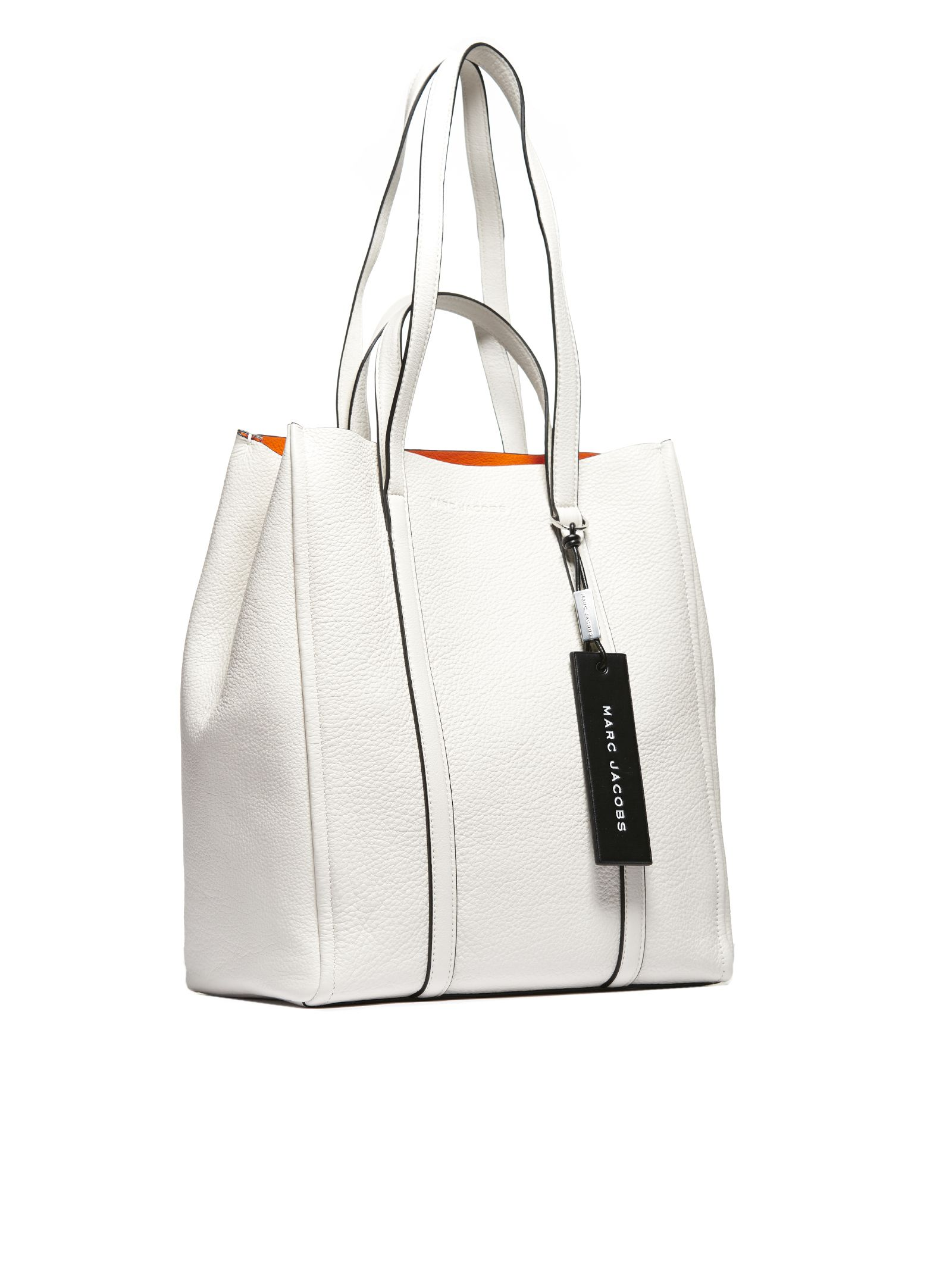 8f57b1628f16 Marc Jacobs Marc Jacobs Oversized Tag Tote - Bianco - 10797388