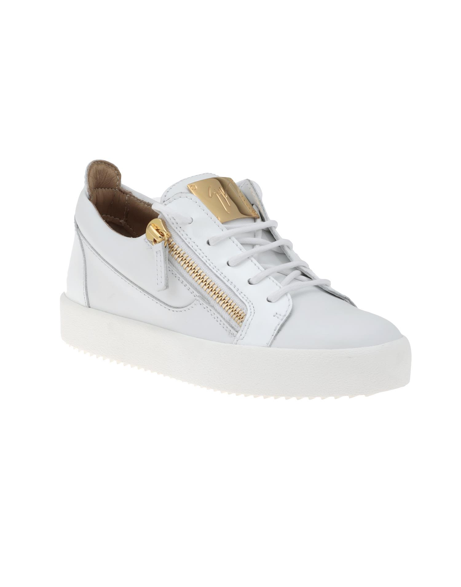 0c5bcdcd02d63 Giuseppe Zanotti Nicki Sneakers - White Giuseppe Zanotti Nicki Sneakers -  White ...