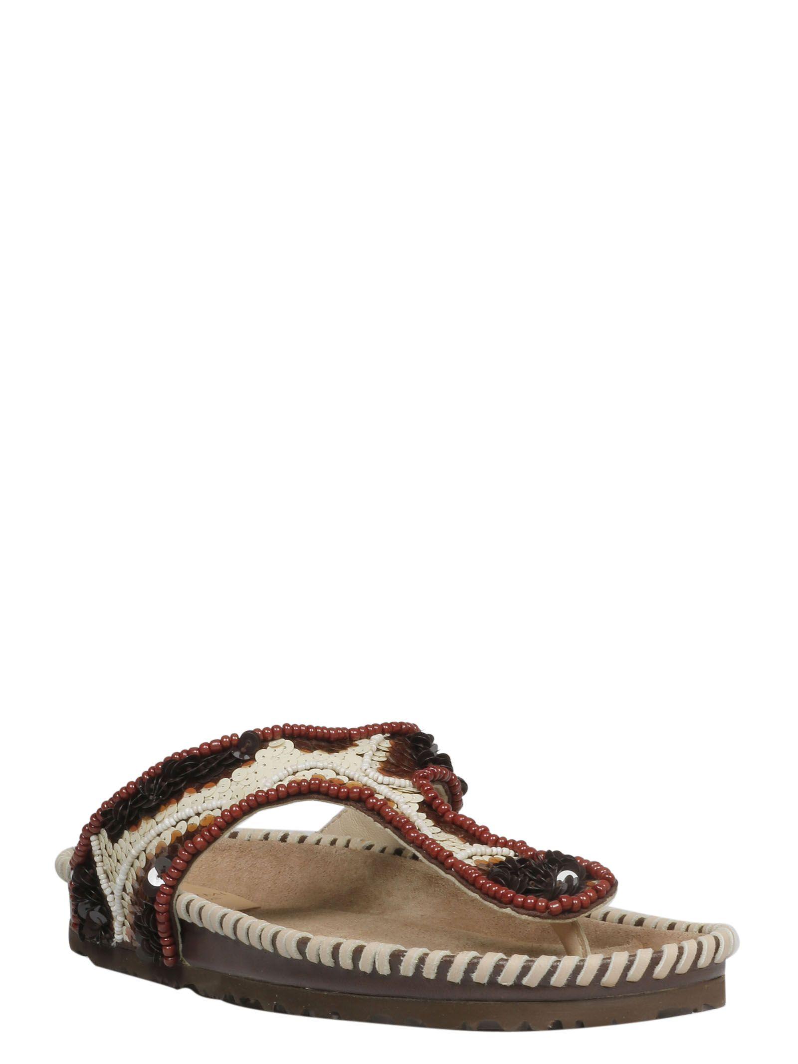 ebcae45d3b635 Malìparmi Maliparmi Beaded Sandals - Basic Malìparmi Maliparmi Beaded  Sandals - Basic ...