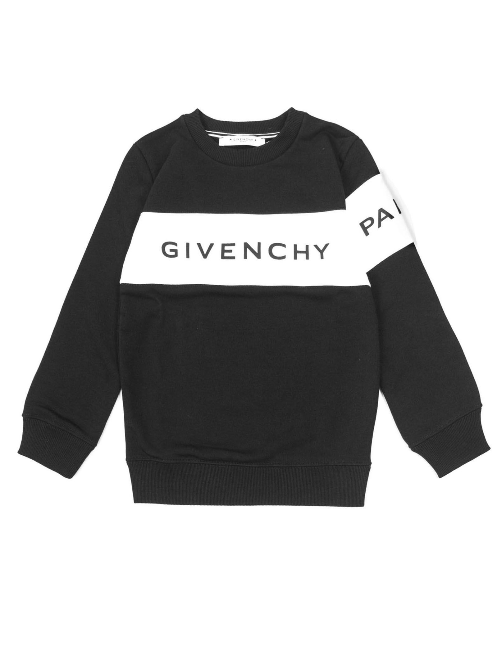 62de60f14aaee Givenchy Givenchy Black Cotton Blend Sweatshirt - Nero - 10978795 ...