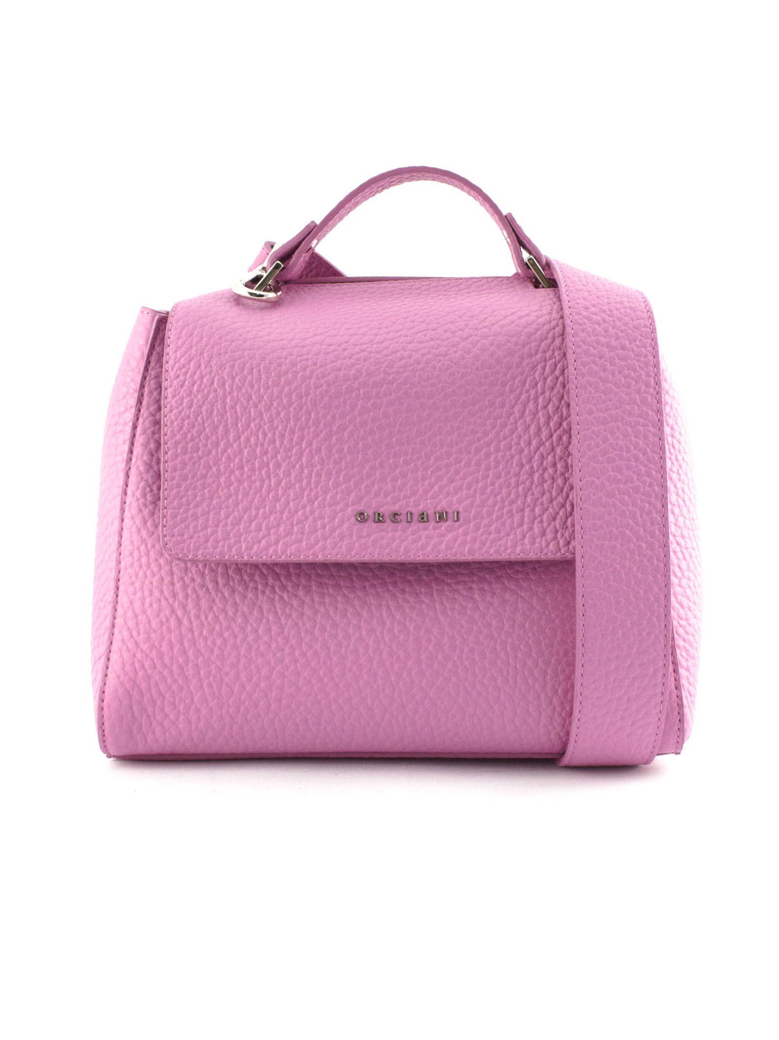 Orciani Orciani Sveva Small Pink Leather Handbag - Fuxia - 10786174 ... 343f86ae17979