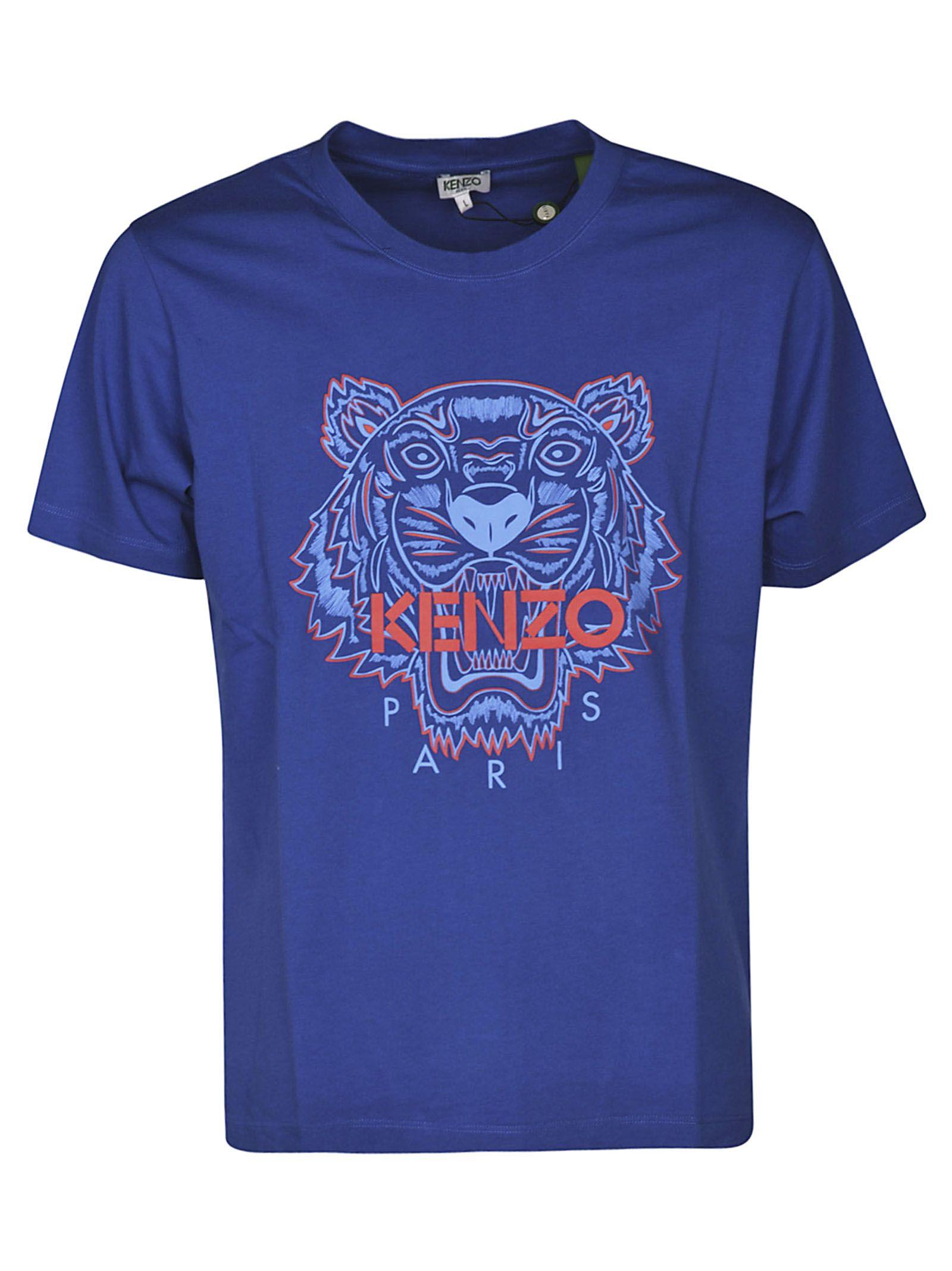 Tiger 10822289Italist Shirt Print T Basic Kenzo EDW9IYH2e