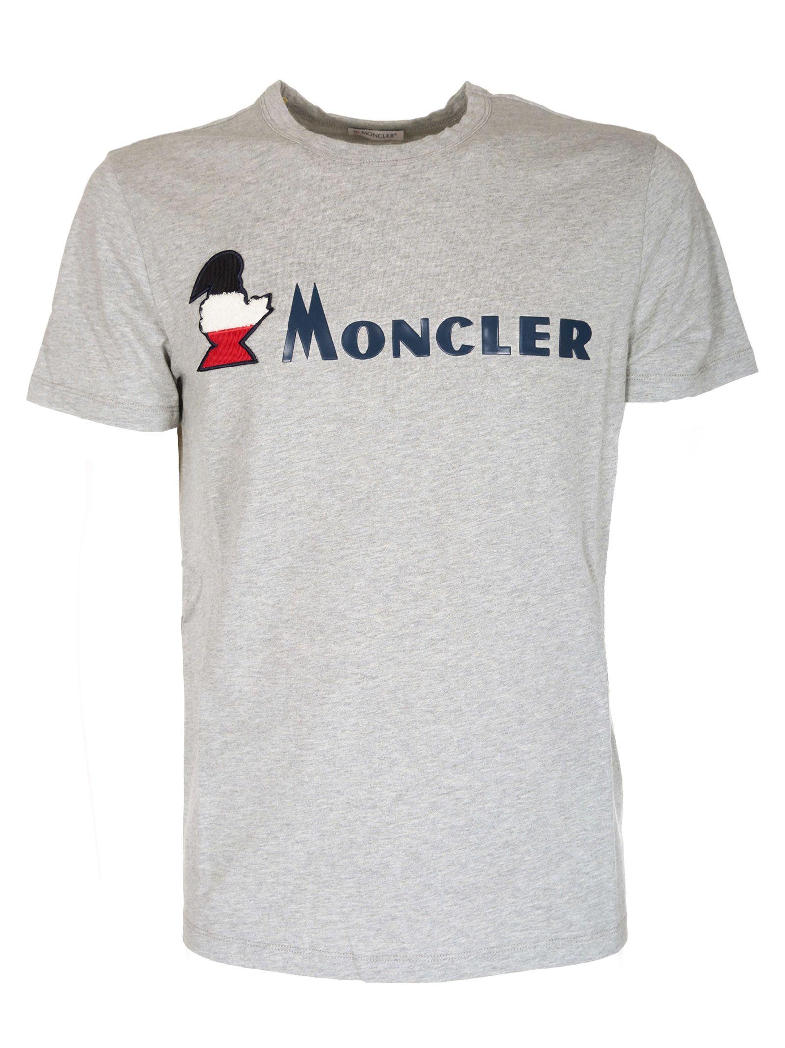 cee344b7998c Moncler Moncler Logo Print T-shirt - Basic - 10839851