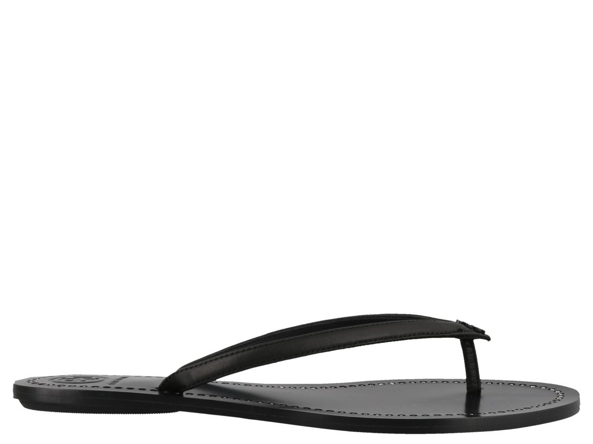 5cb94a26fa8 Tory Burch Tory Burch Liana Thong Sandals - Perfect black - 10829220 ...