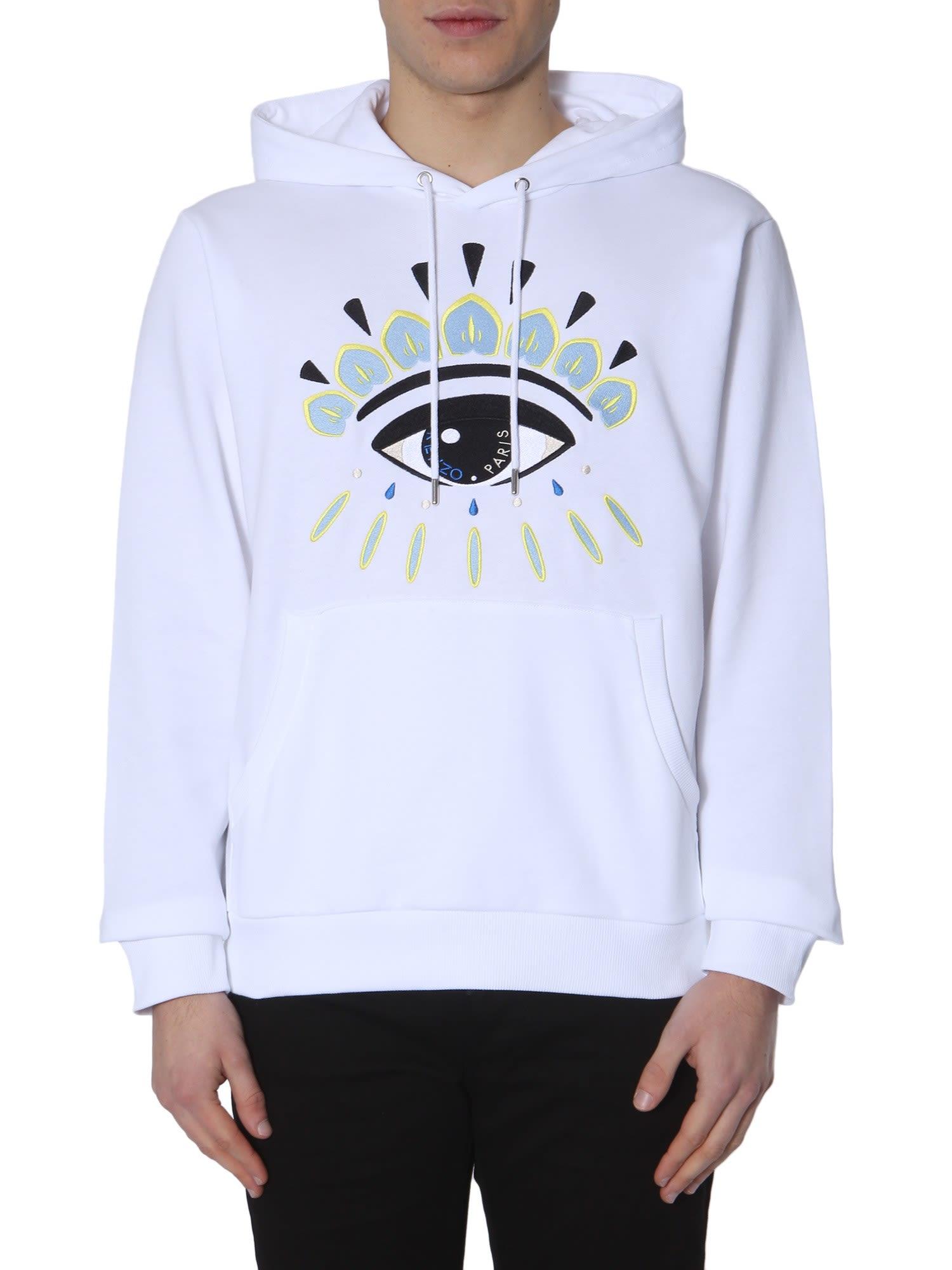 56cb17a6 Kenzo Kenzo Hooded Sweatshirt - White - 10791902 | italist