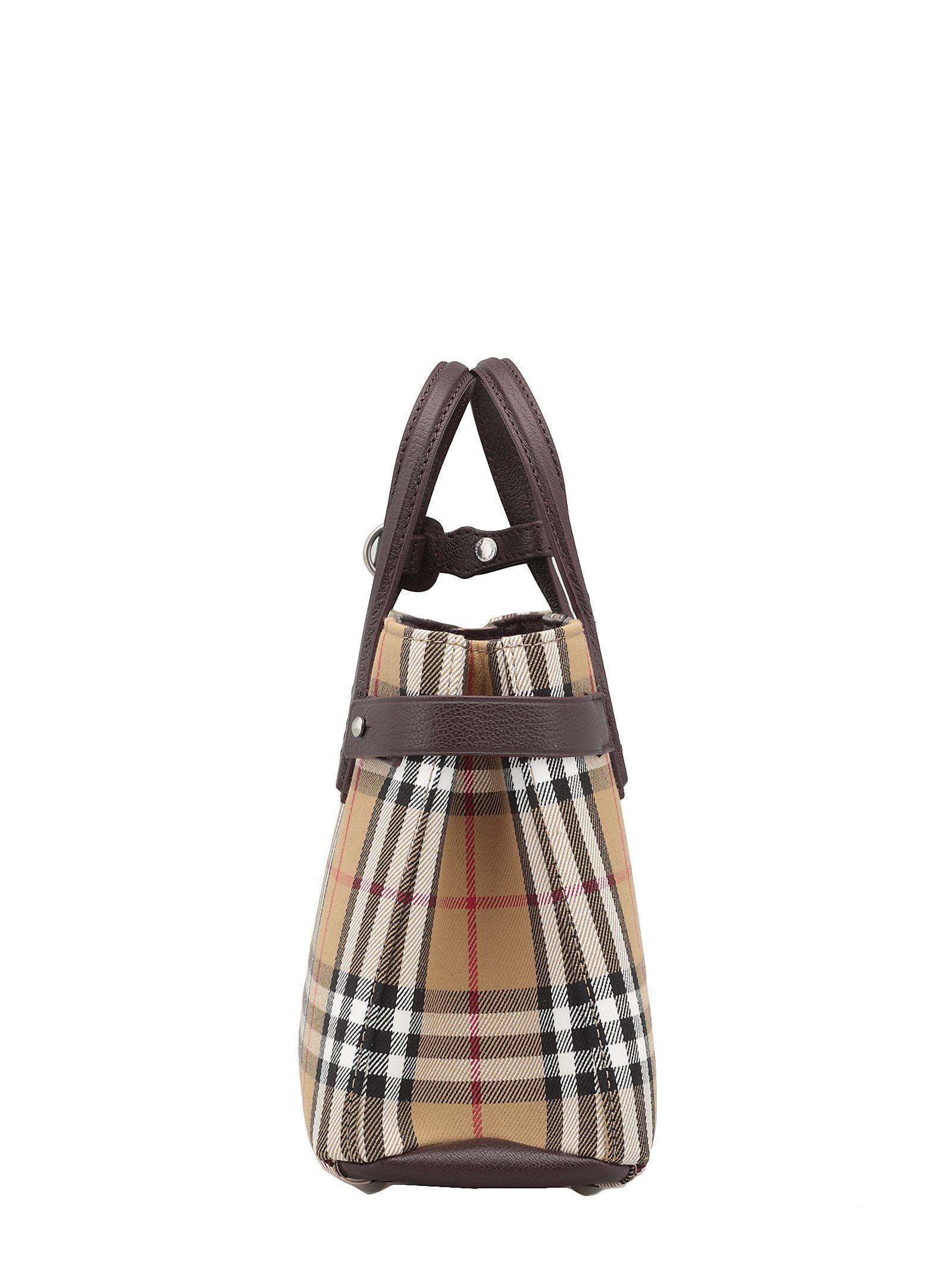 c8d30c827769 Burberry Burberry Small Banner Bag - DEEP CLARET - 10952728