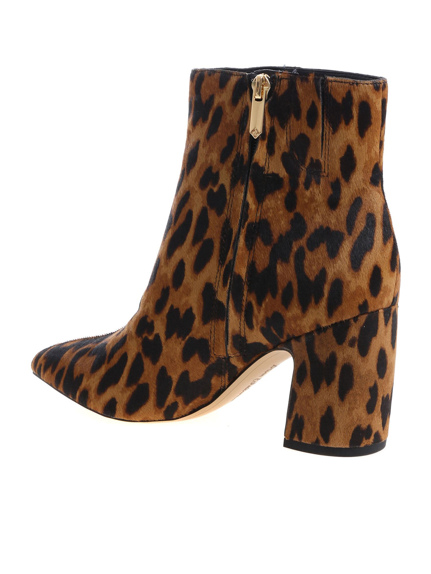 107c47a4c Sam Edelman Sam Edelman Hilty Leopard Boots - Maculato - 10763130 ...