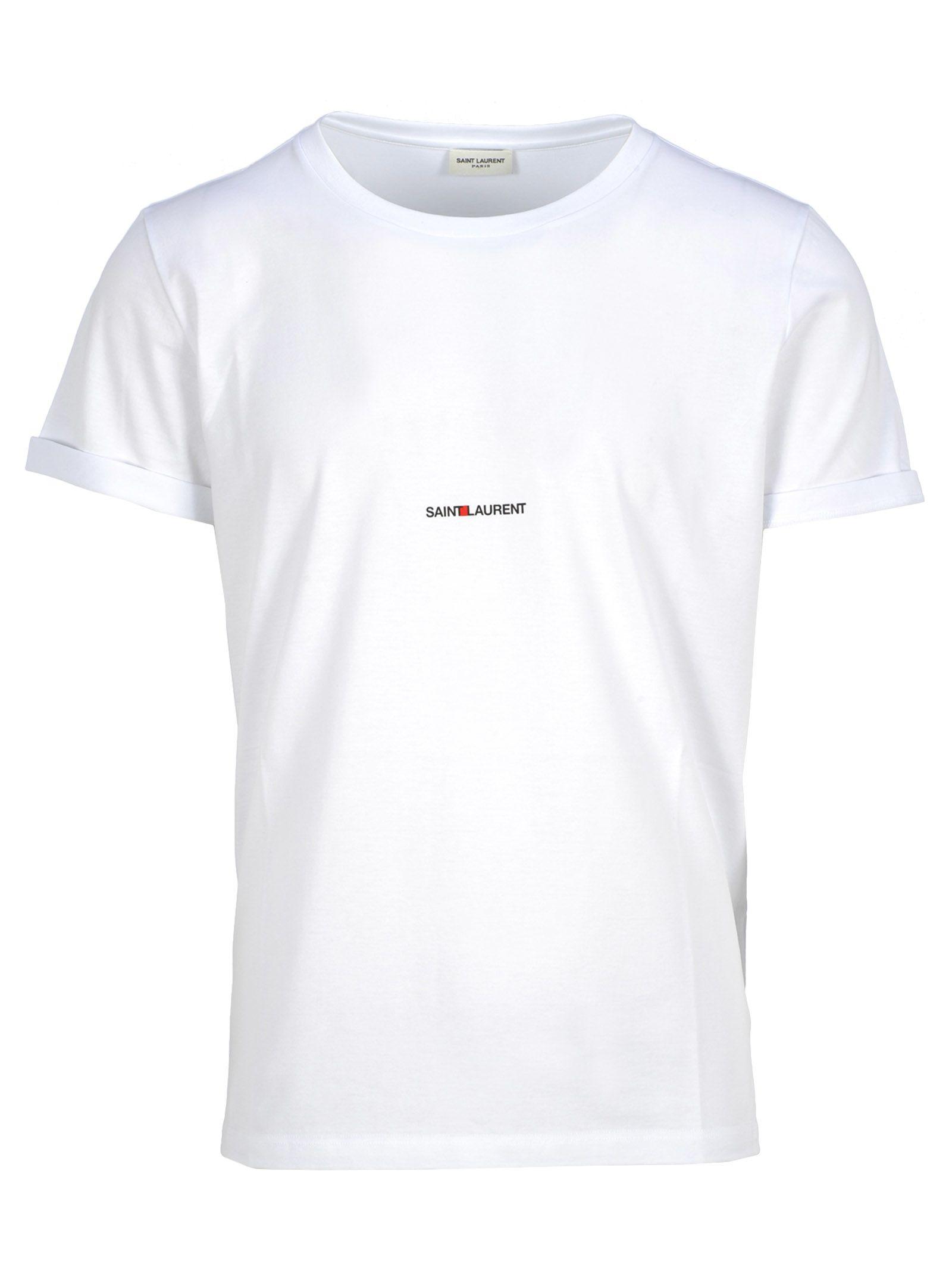be2f8651 Saint Laurent Saint Laurent Saint Laurent Classic Logo T-shirt ...