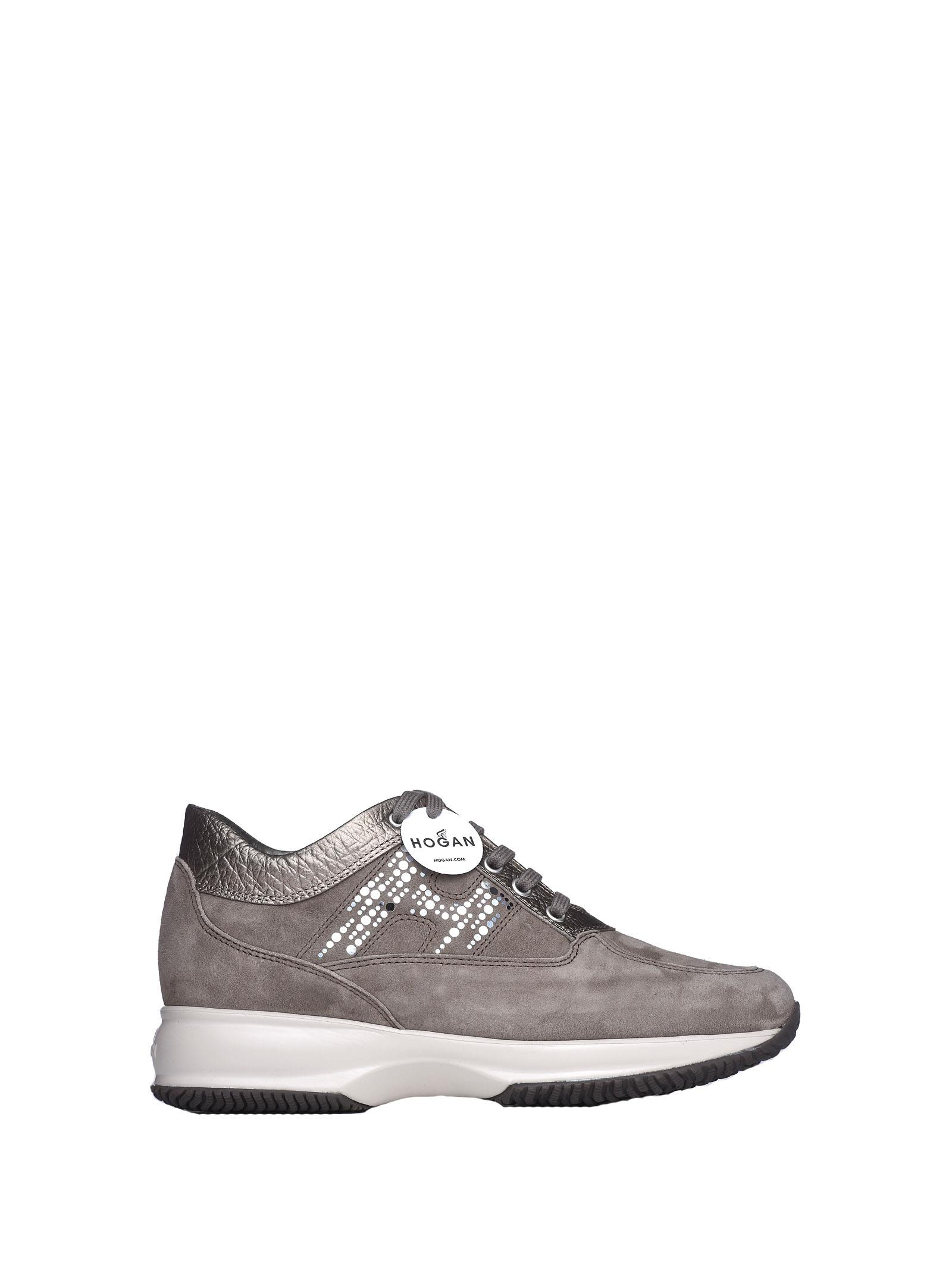 64781ce64c5 Hogan Hogan Interactive Brown Sneakers - PALUDE TORBA - 10704088 ...