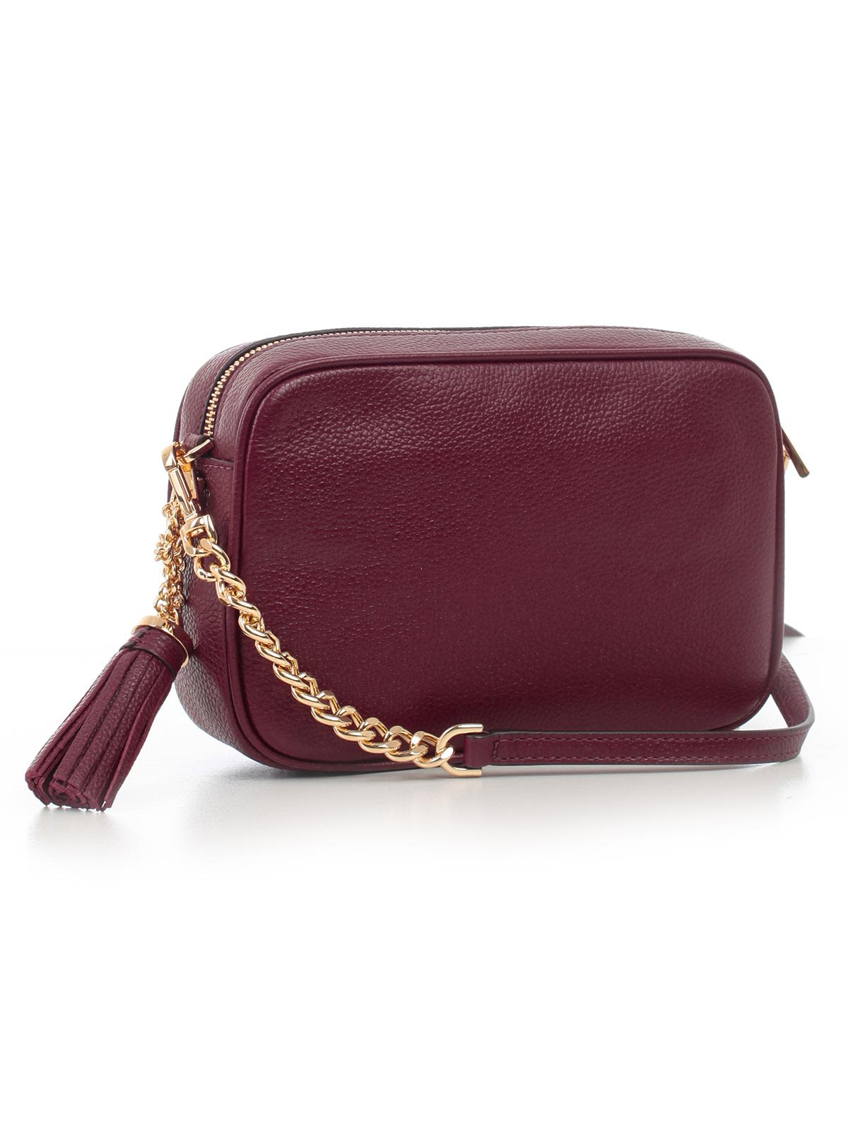 c7e2cfba9994 ... MICHAEL Michael Kors Ginny Medium Camera Shoulder Bag - Oxblood ...
