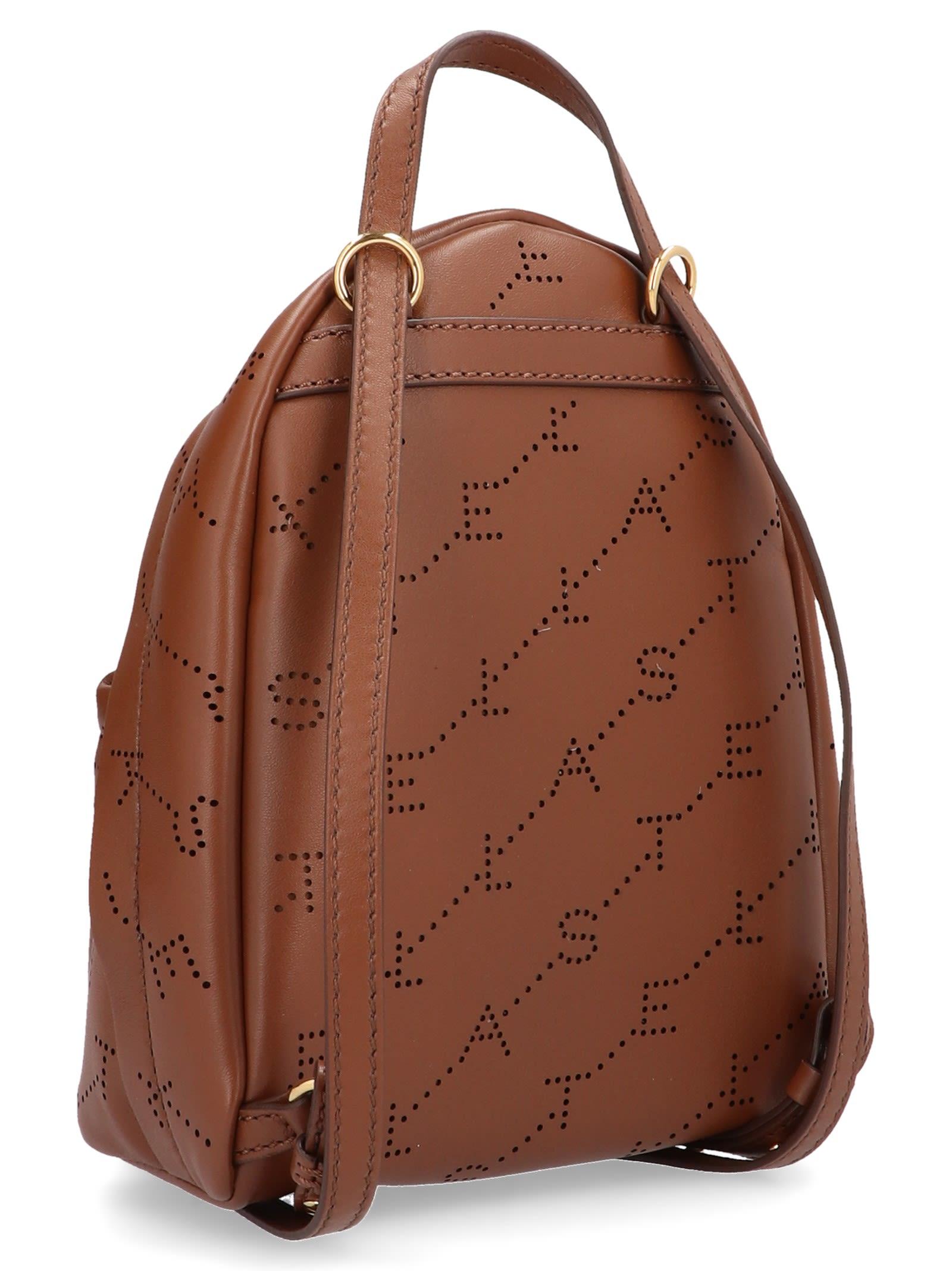 Stella McCartney Stella Mccartney  the Logo Bag  Bag - Brown ... 3144c1b4ba701