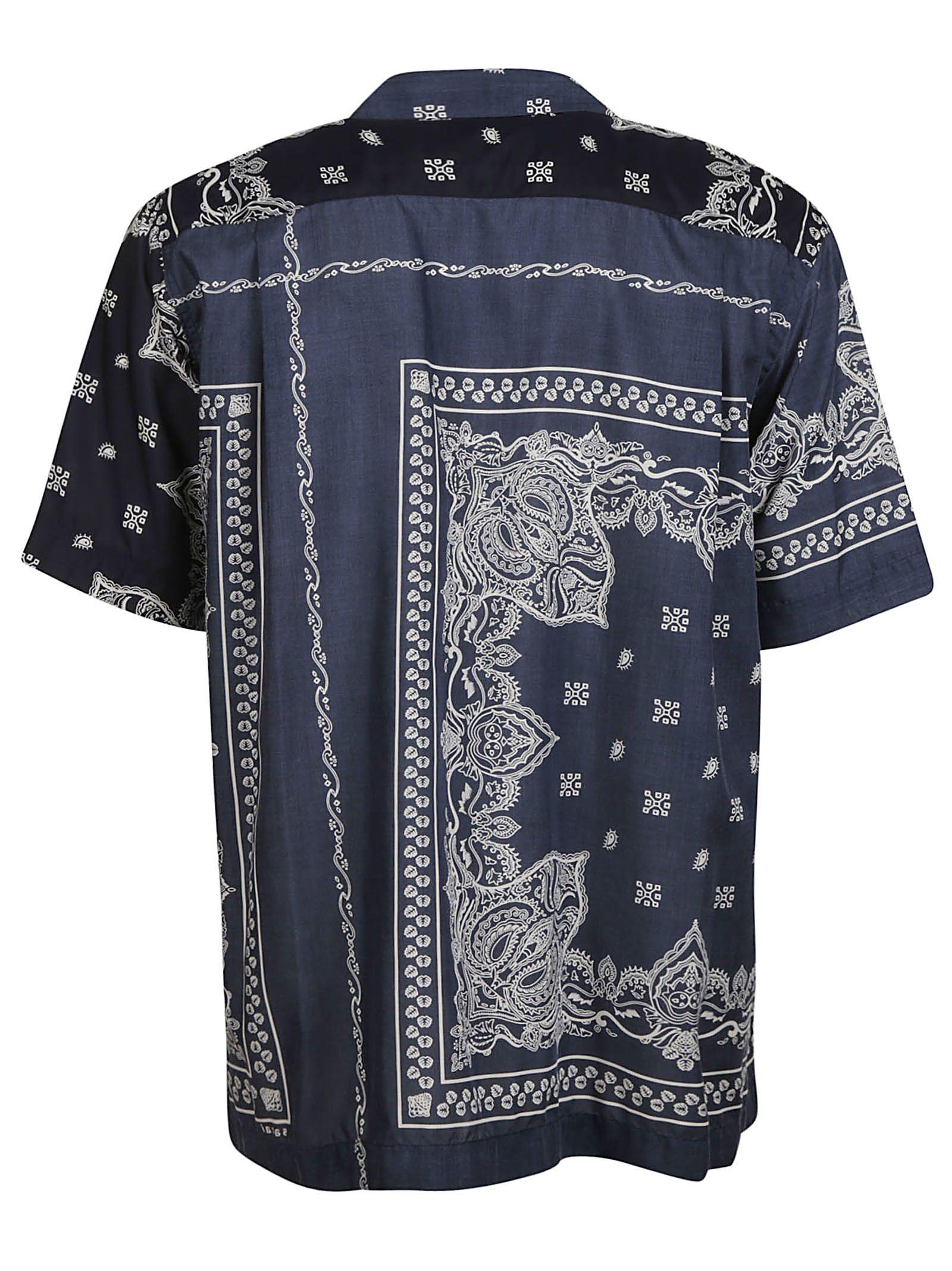 dab8d8cd07d Sacai Check Printed Back Tshirt in 2019 Products Plaid T shirt