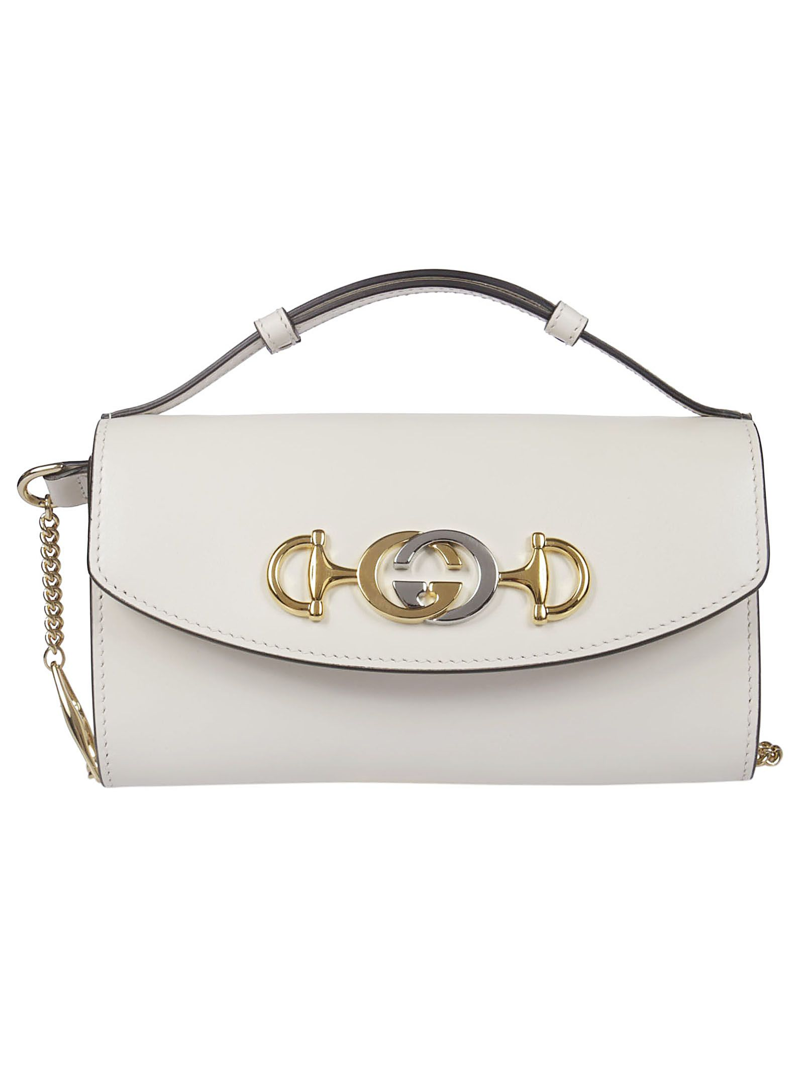 5945518776f Gucci Gucci Zumi Mini Shoulder Bag - Mystic White - 10936124
