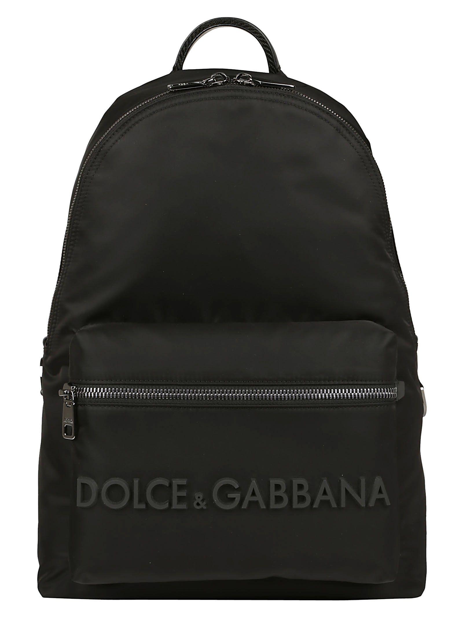 b7470d96bb74 Dolce   Gabbana Dolce E Gabbana Backpack - Black - 10806133