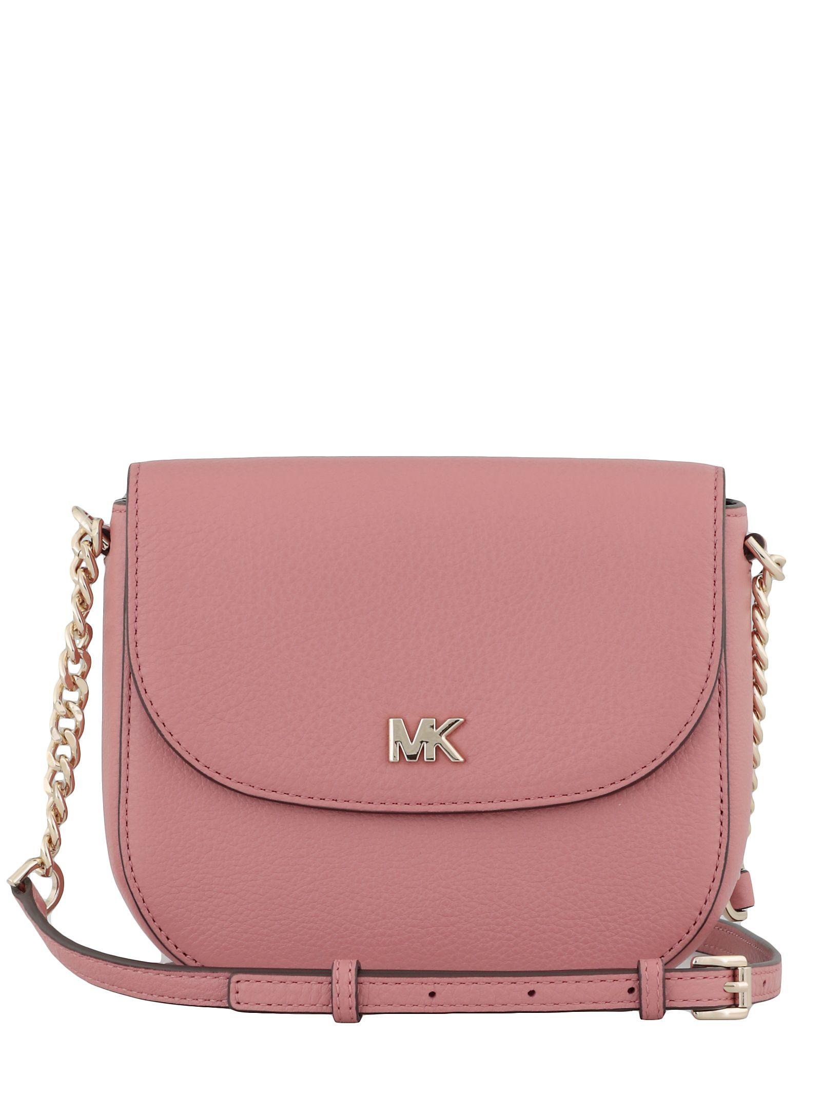 09e5b8af19 MICHAEL Michael Kors MICHAEL Michael Kors Mott Crossbody Bag - Pink ...