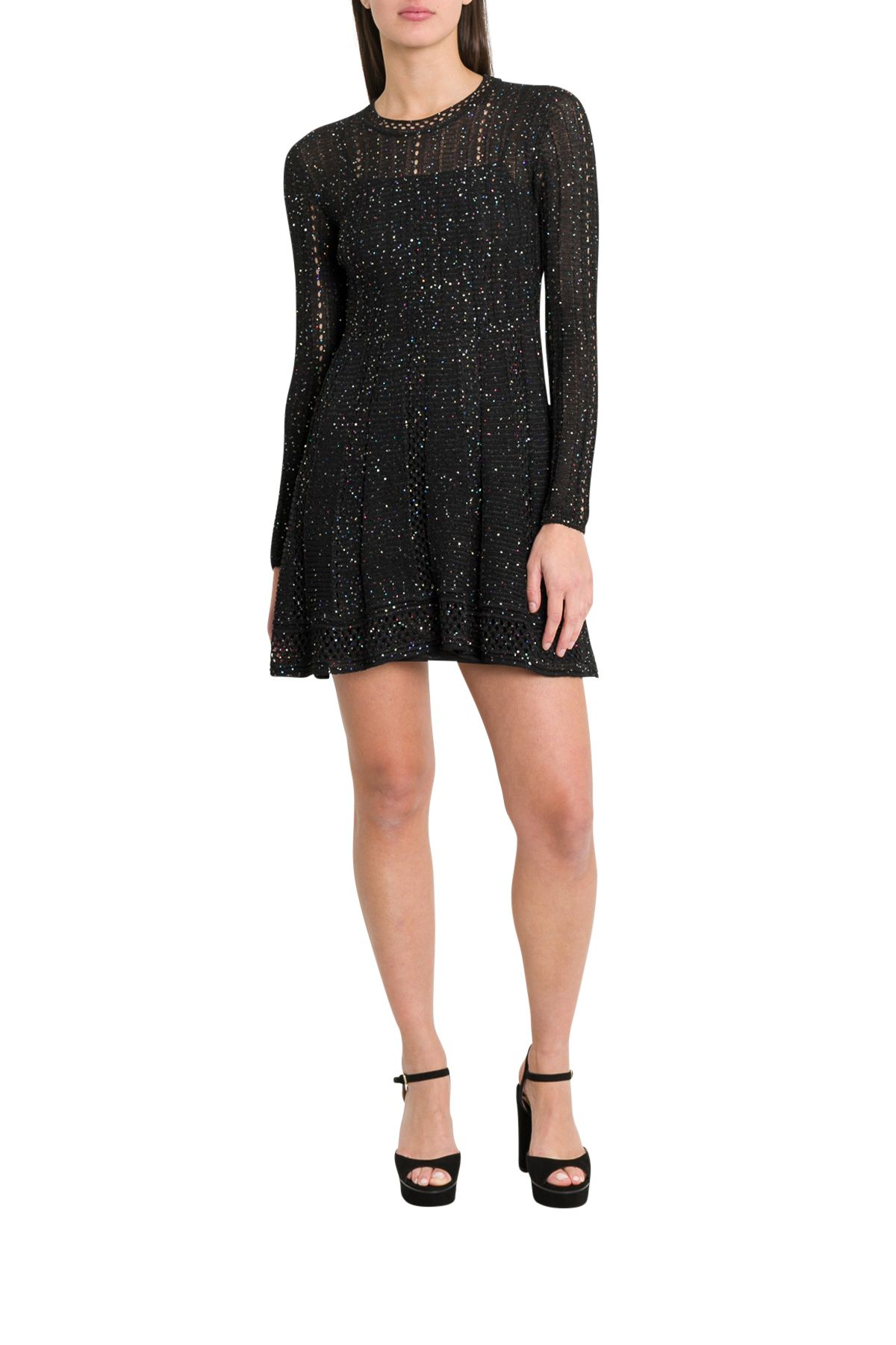 1aeef35c2b20 M Missoni M Missoni Short Dress With Sequins - Black - 10802271 ...
