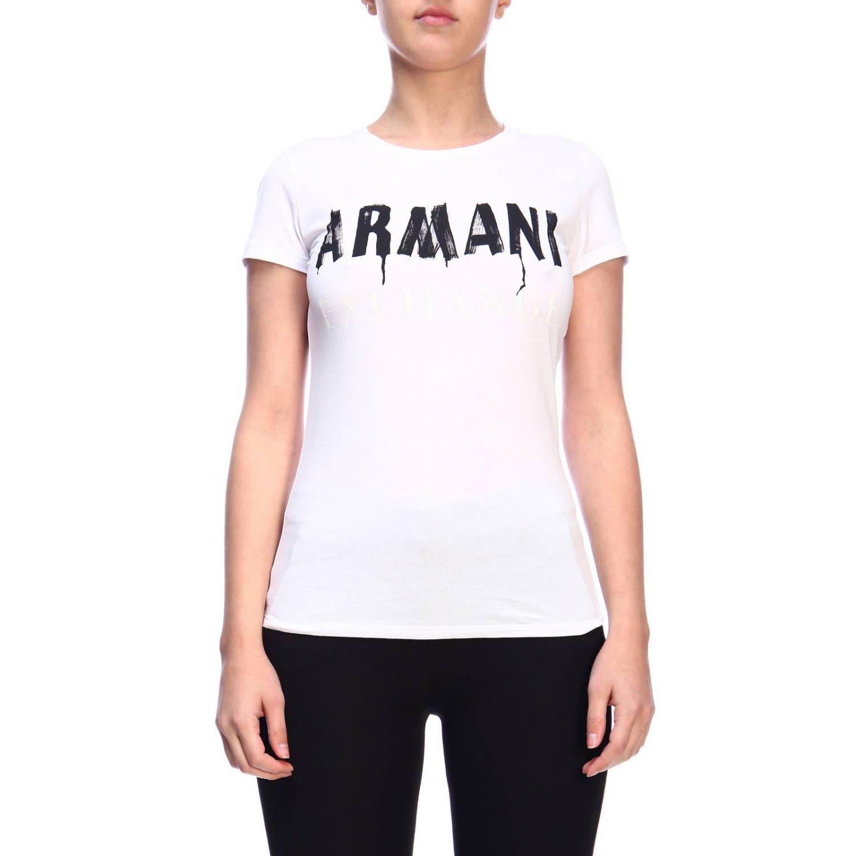 ff87385f Armani Collezioni Armani Exchange T-shirt T-shirt Women Armani Exchange -  white ...