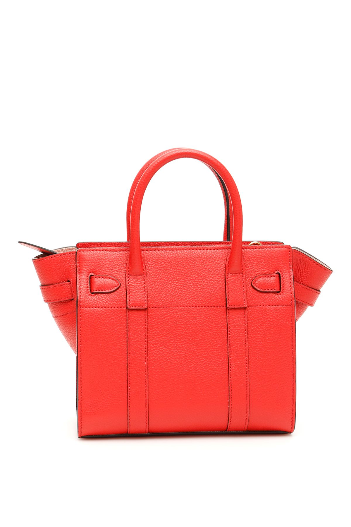 e4cbcf5510e6 Mulberry Mulberry Zipped Bayswater Mini Bag - IBISCUS RED