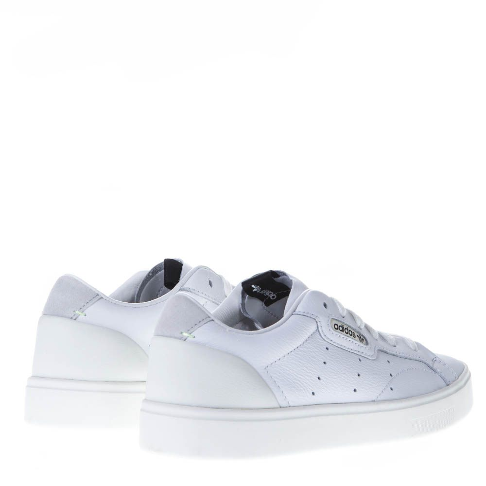 1f4bc46830f6 Adidas Originals Adidas Originals Sleek W White Leather Sneakers ...