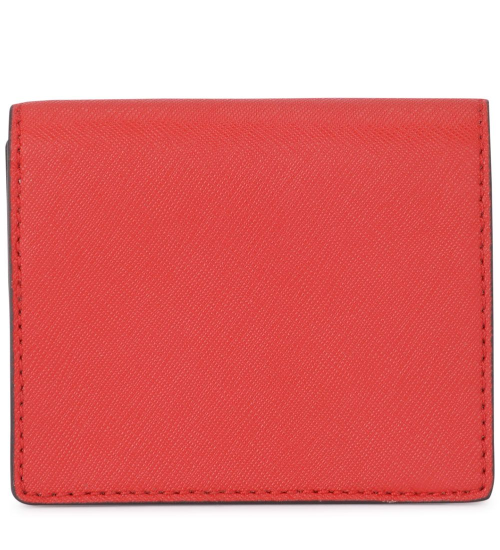 3b24ad950b85 Michael Kors Michael Kors Red Saffiano Leather Card Holder - ROSSO ...