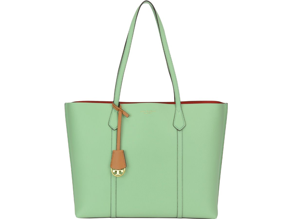 bba776817c2 Tory Burch Tory Burch Perry Triple Compartment Tote Bag - Mint green ...