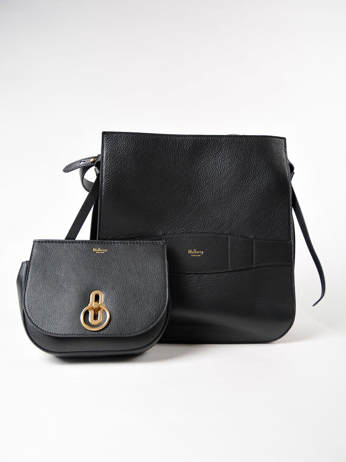 Mulberry Amberley Hobo Bag - Black Mulberry Amberley Hobo Bag - Black ... baa74e3928150