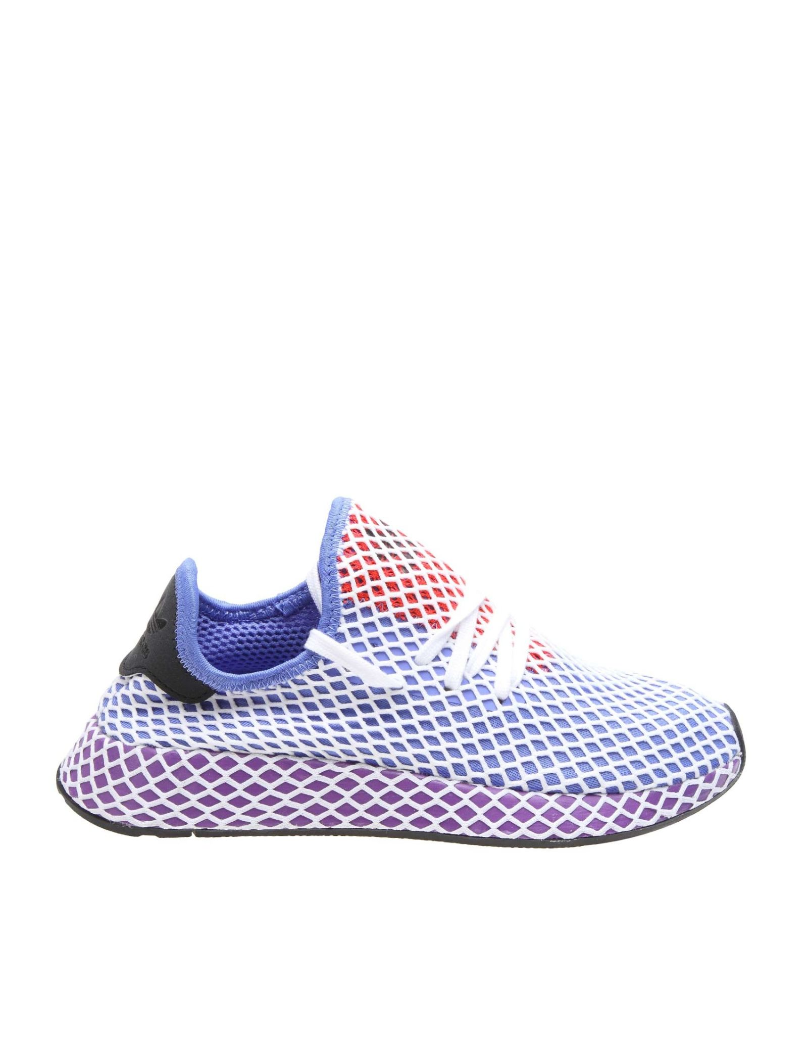 1d044a9d8c785 Adidas Originals Sneakers Deerupt Runner In Mesh With A Network Motif -  Lilac ...