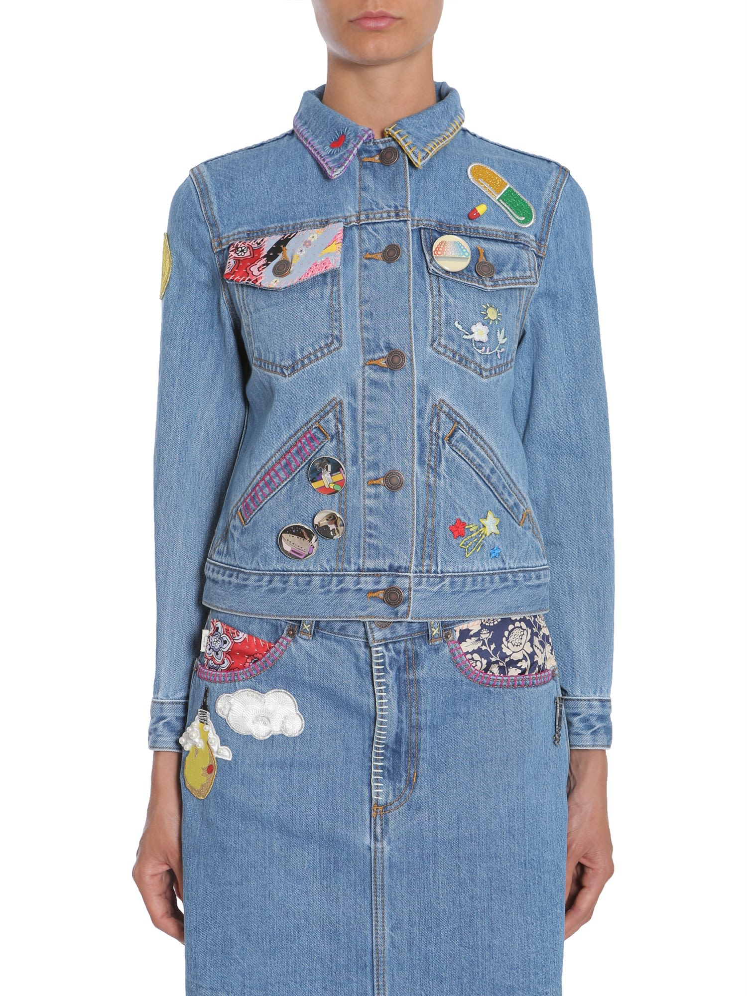 Marc Jacobs Marc Jacobs Short Denim Jacket
