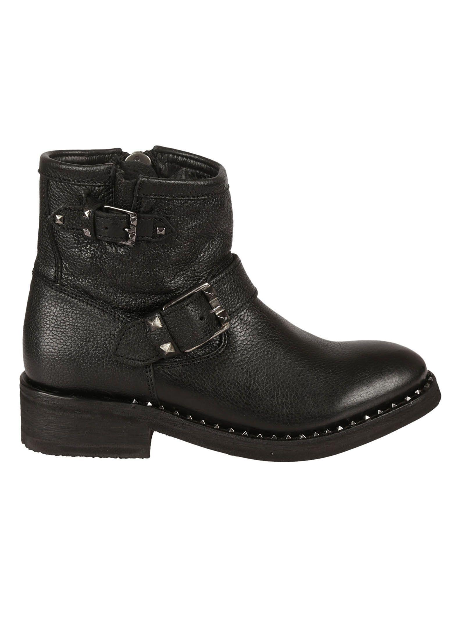 8a46d575459 Ash Black Speed Biker Boots - Black ...