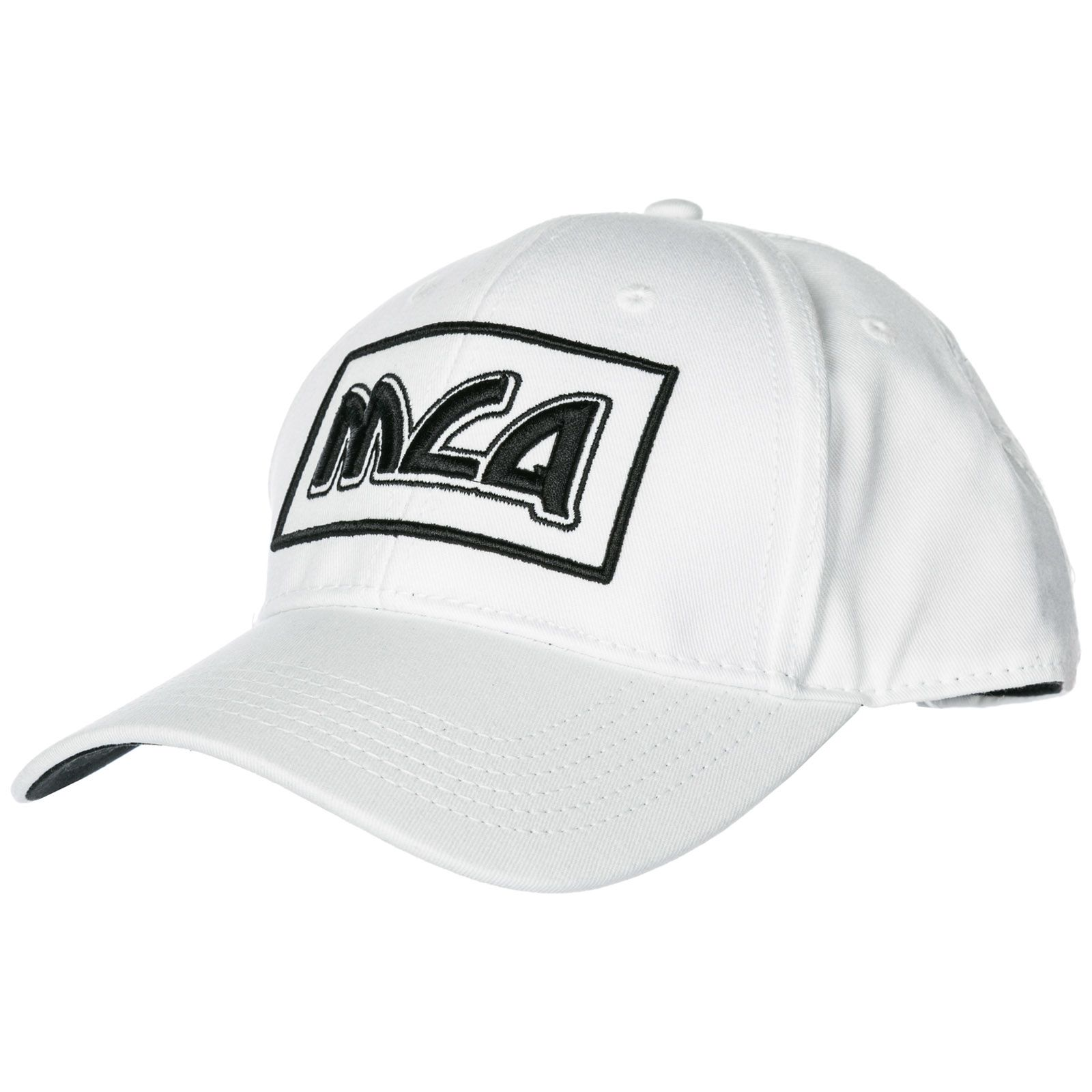 d8b218c5d7317 McQ Alexander McQueen Adjustable Cotton Hat Baseball Cap Metal Logo - White  ...