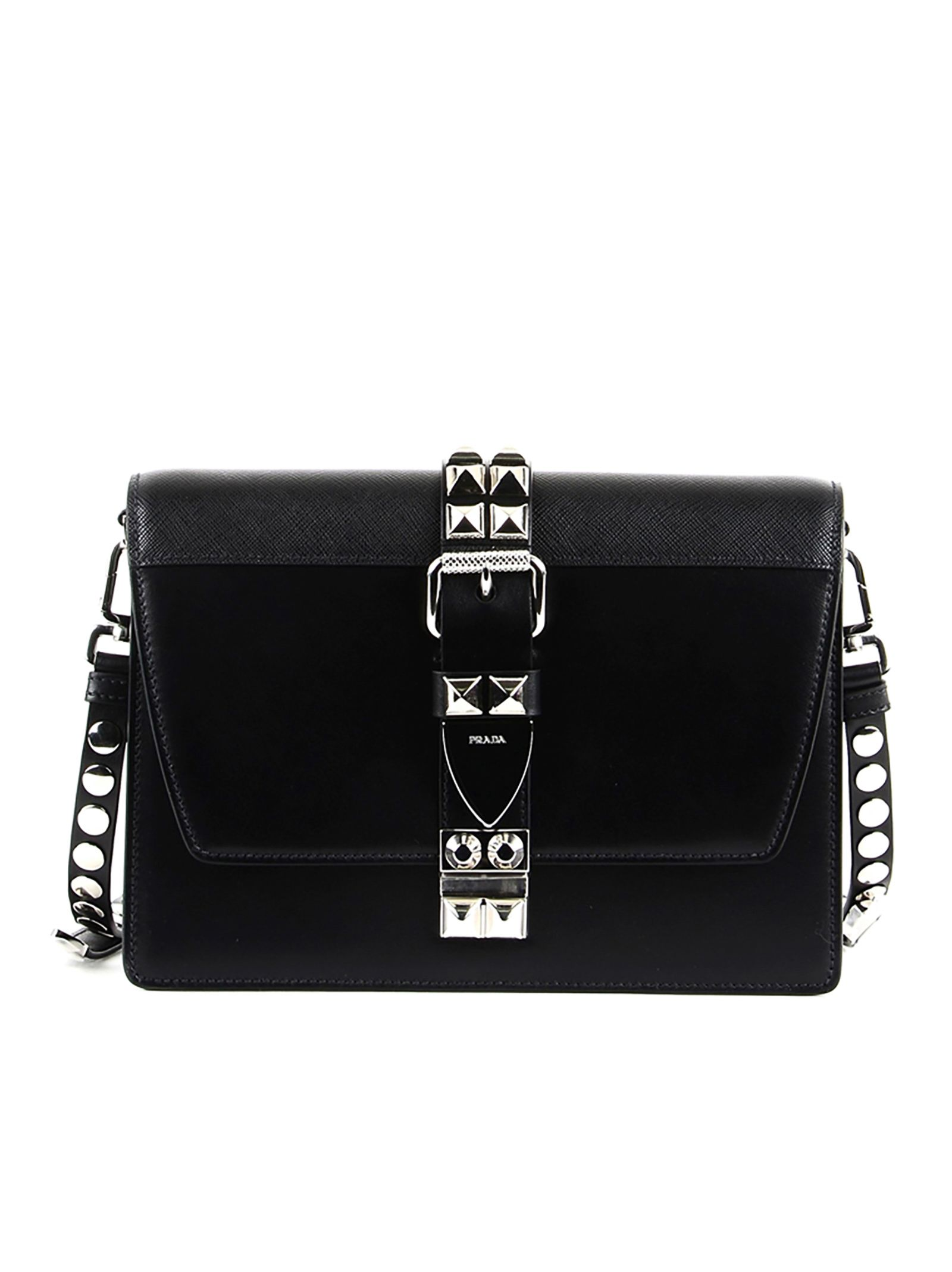 7583e01f1e14 Prada Prada Elektra Shoulder Bag - BLACK - 10844680 | italist