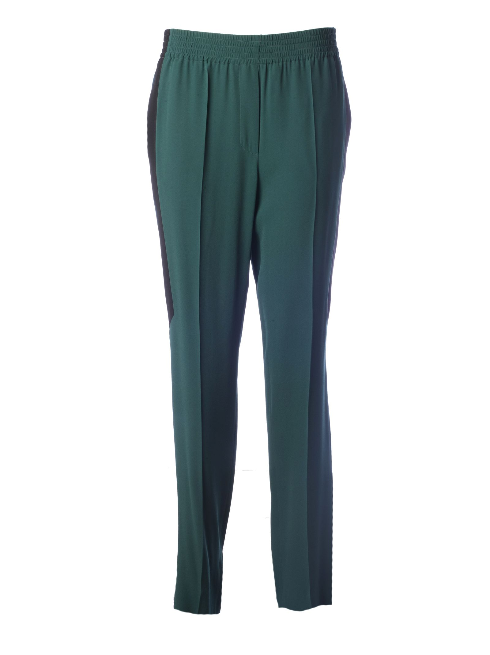 329dc59ad7de Givenchy Givenchy Striped Detail Trousers - Green Forest - 10794904 ...