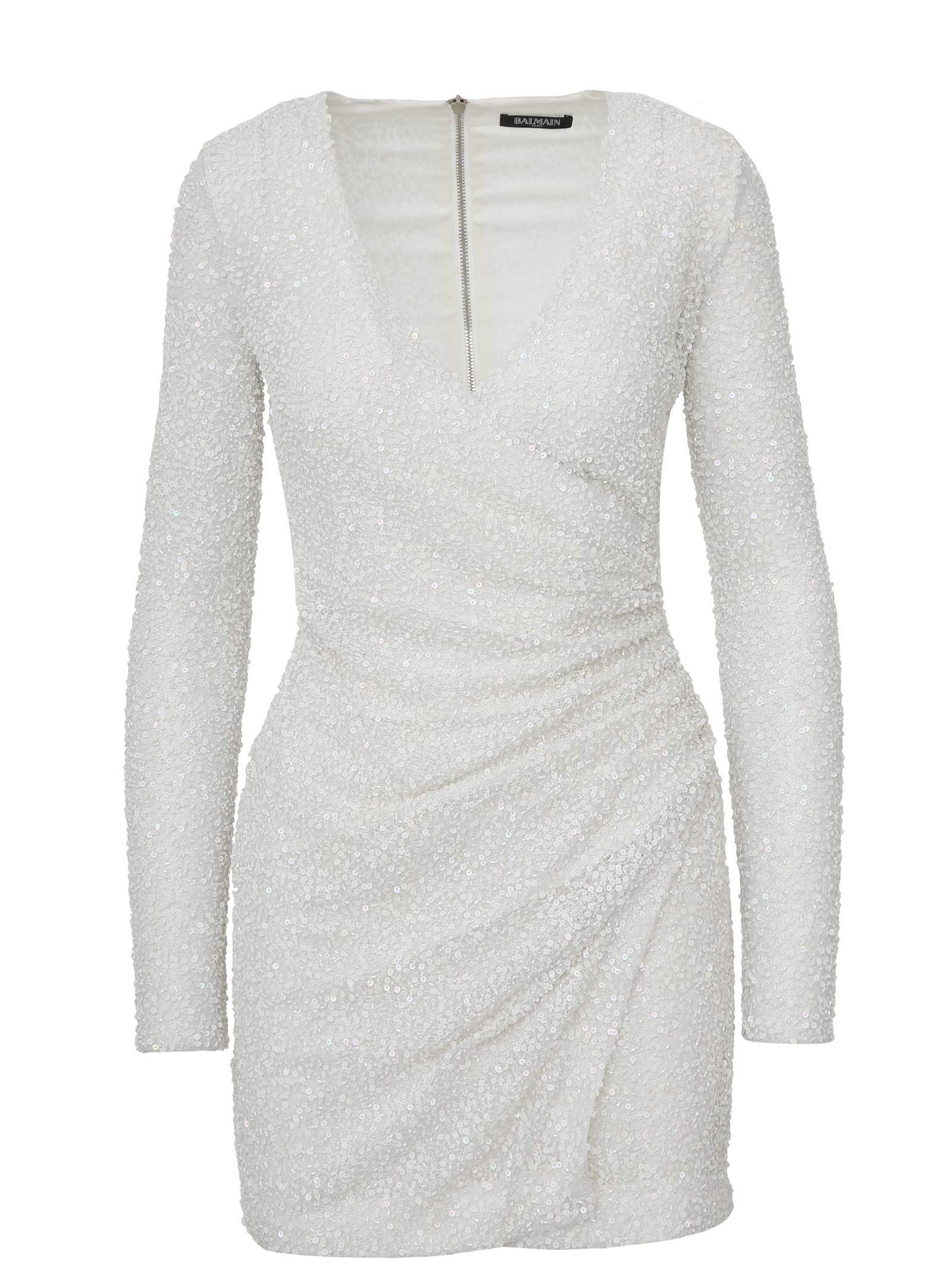 96d51e98 Balmain Balmain Paris Dress - White - 10934590 | italist
