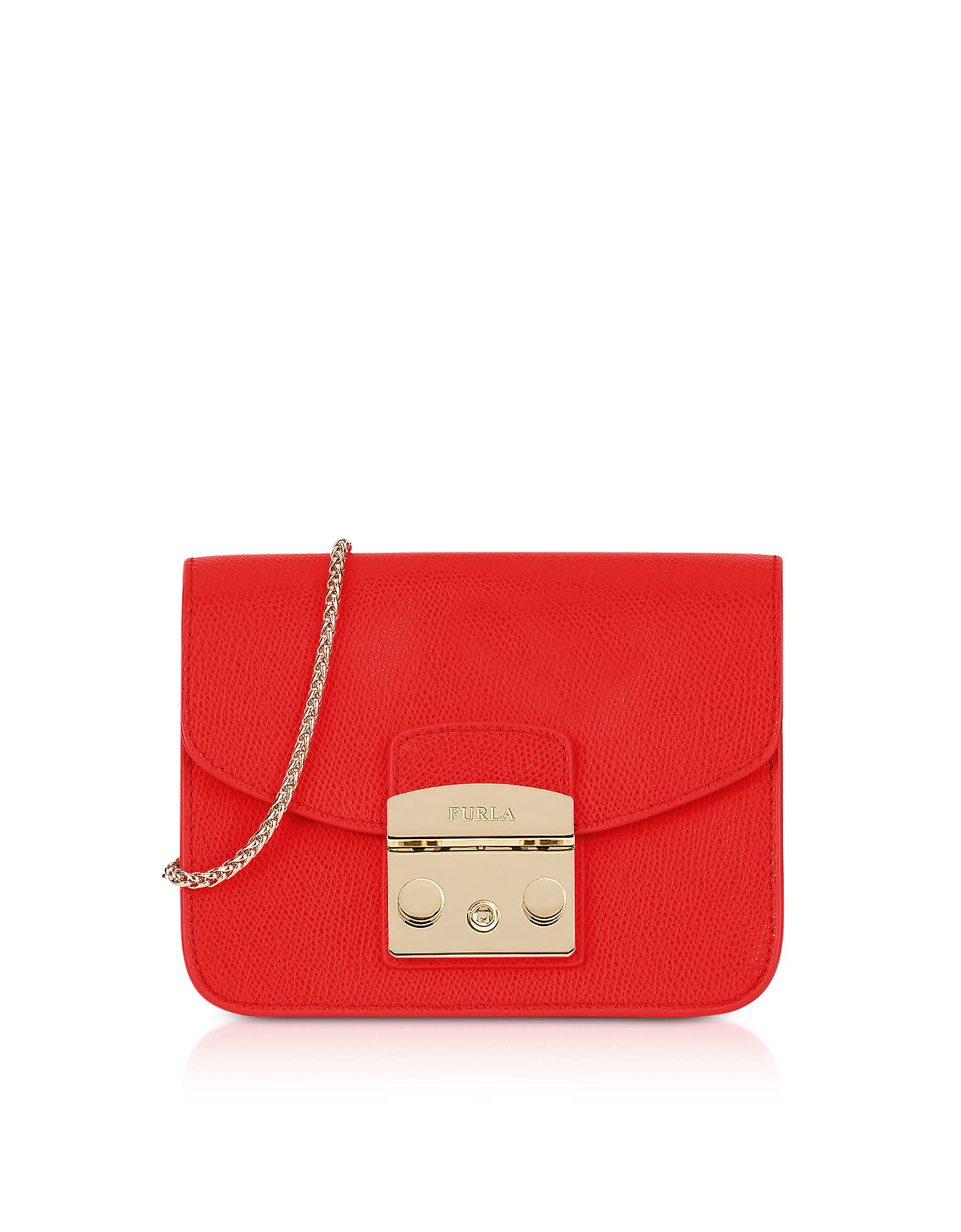 785138f6c39d Furla Furla Metropolis Mini Crossbody Bag W chain Strap - Red ...