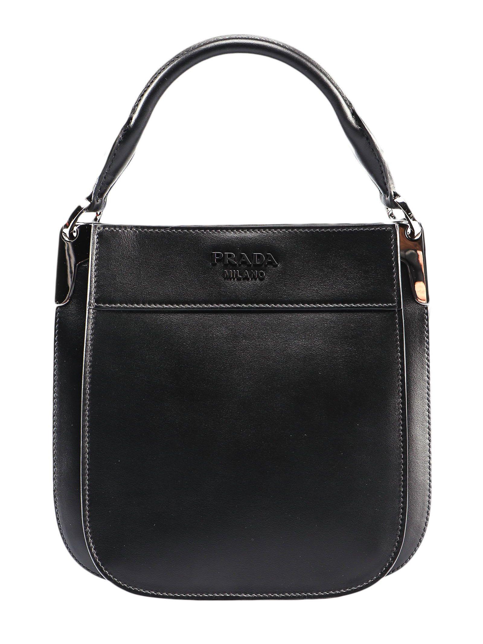 142cd5605ed3 Prada Prada Margit Sm Bag - Cerise+nero - 10960845 | italist